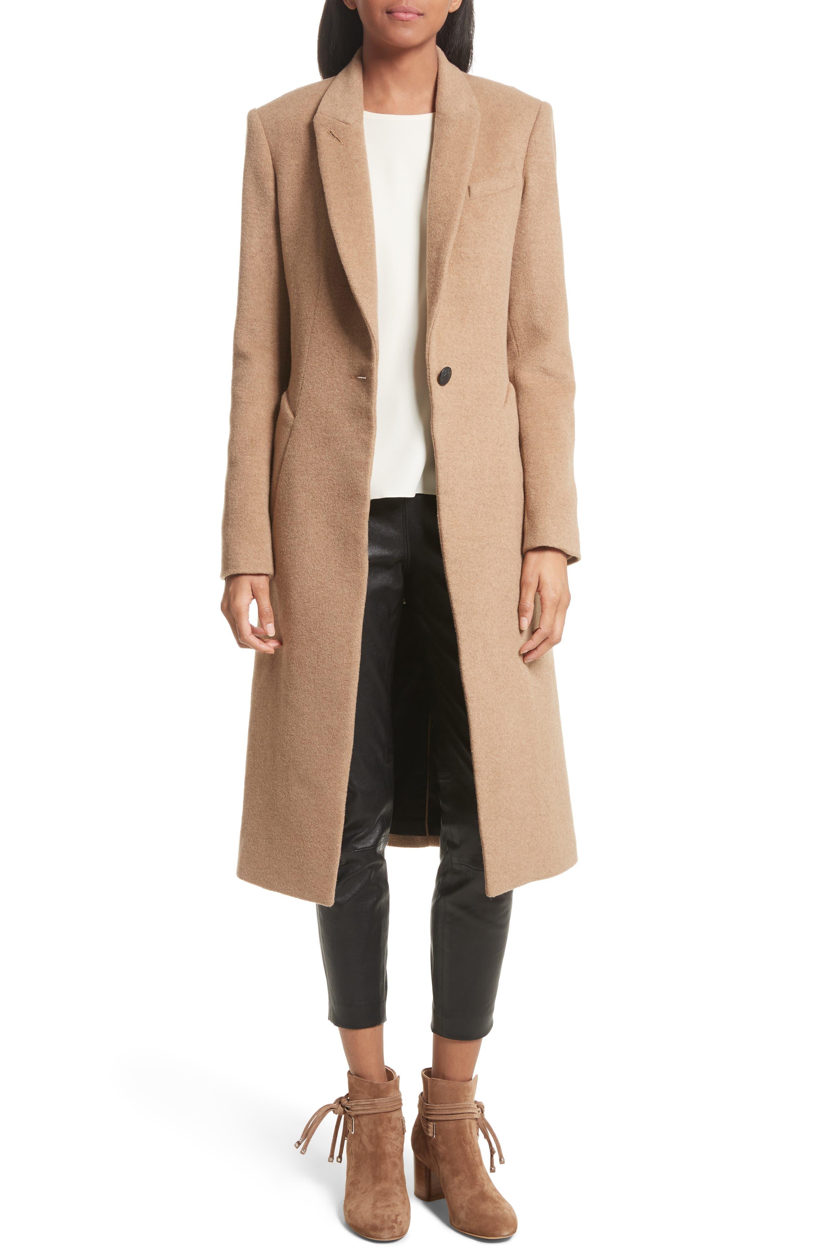 Alternate Image 1 Selected - rag & bone Duke Camel Hair Coat