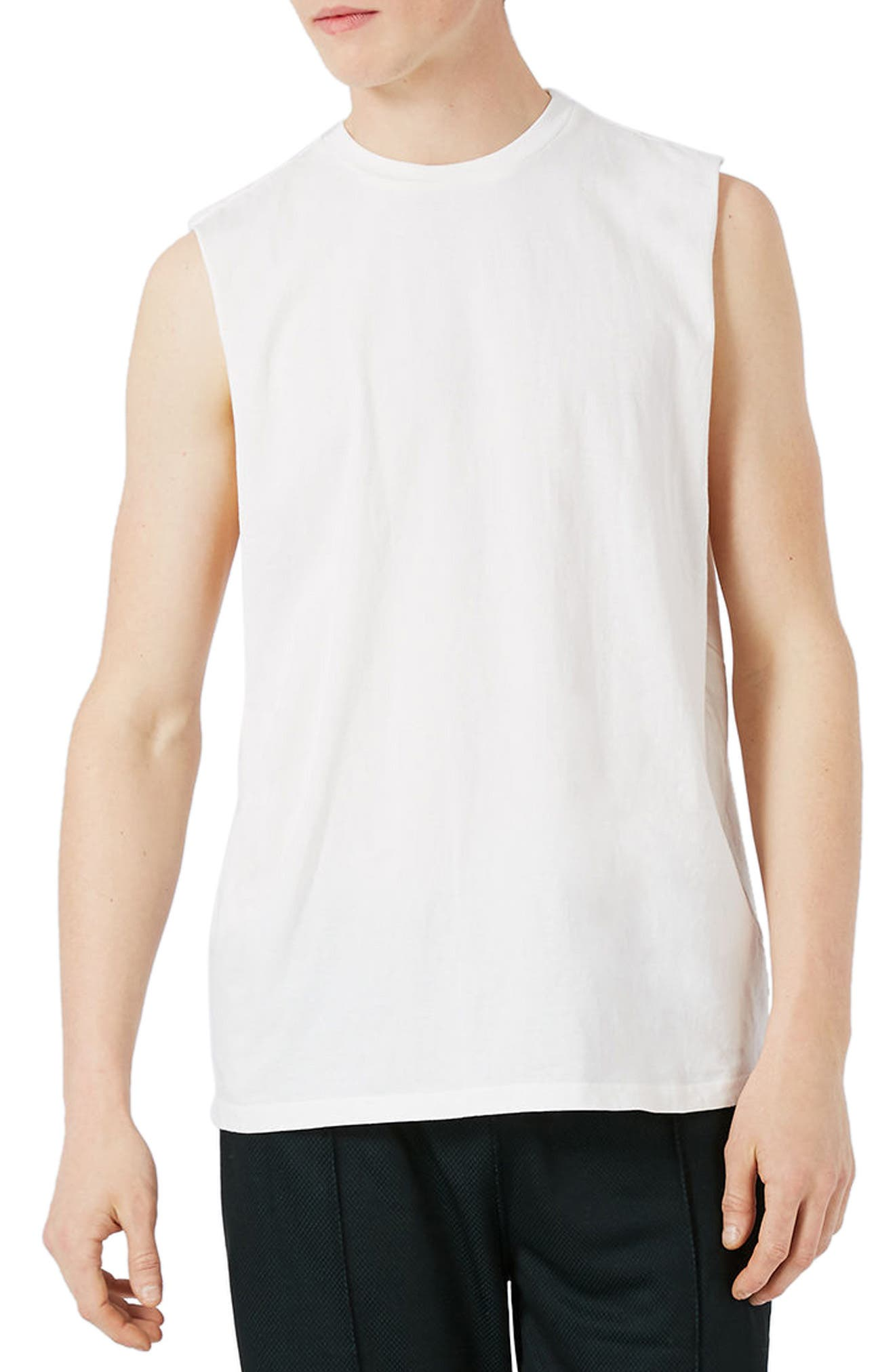 TOPMAN Drop Shoulder Tank