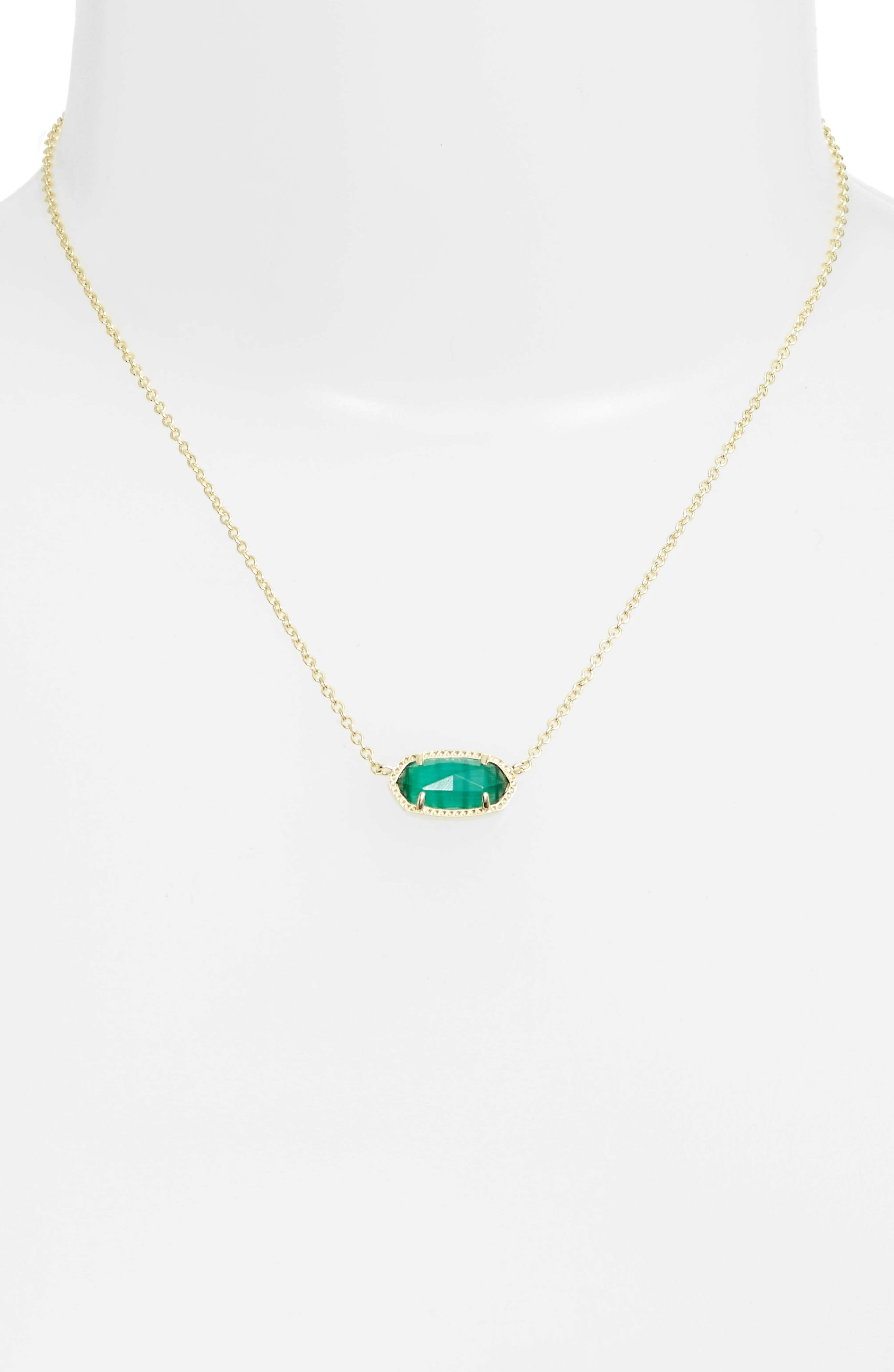 Alternate Image 2  - Kendra Scott Elisa Birthstone Pendant Necklace