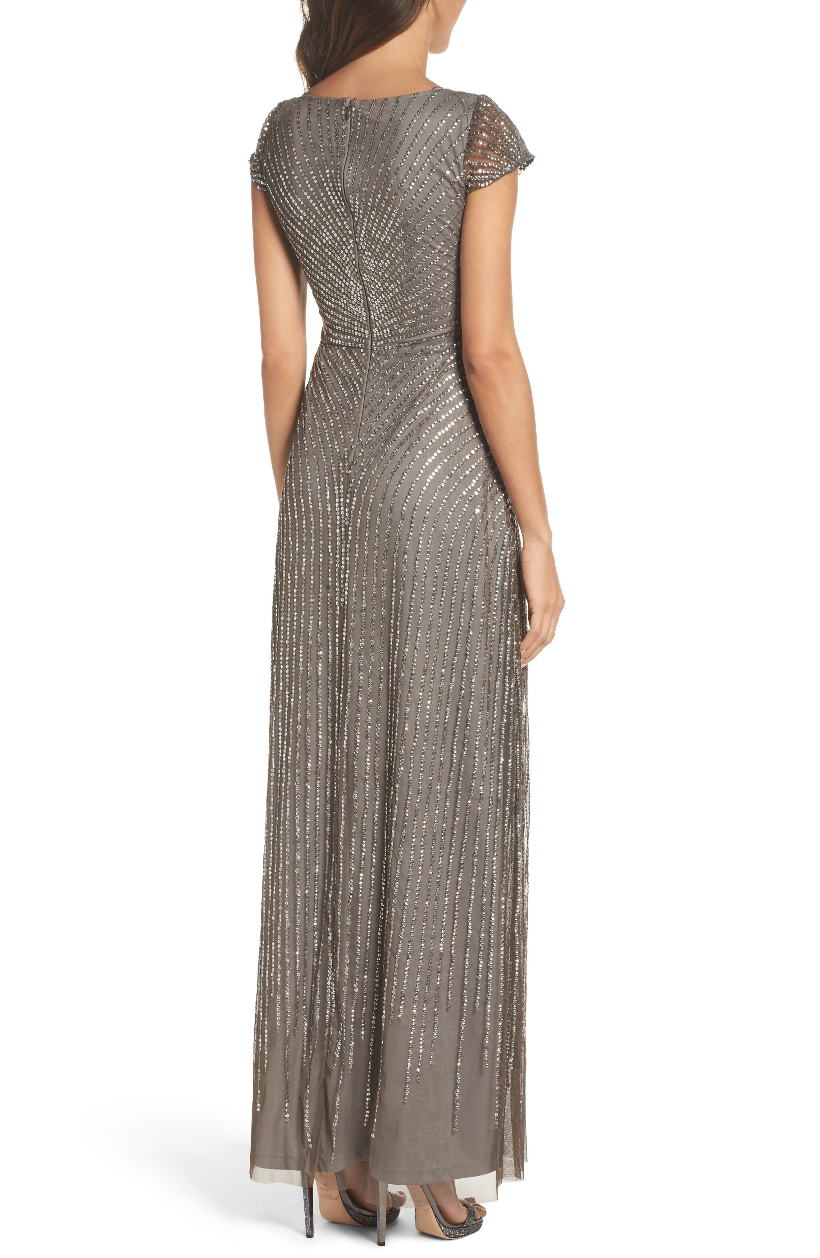 Alternate Image 2  - Adrianna Papell Sequin Gown