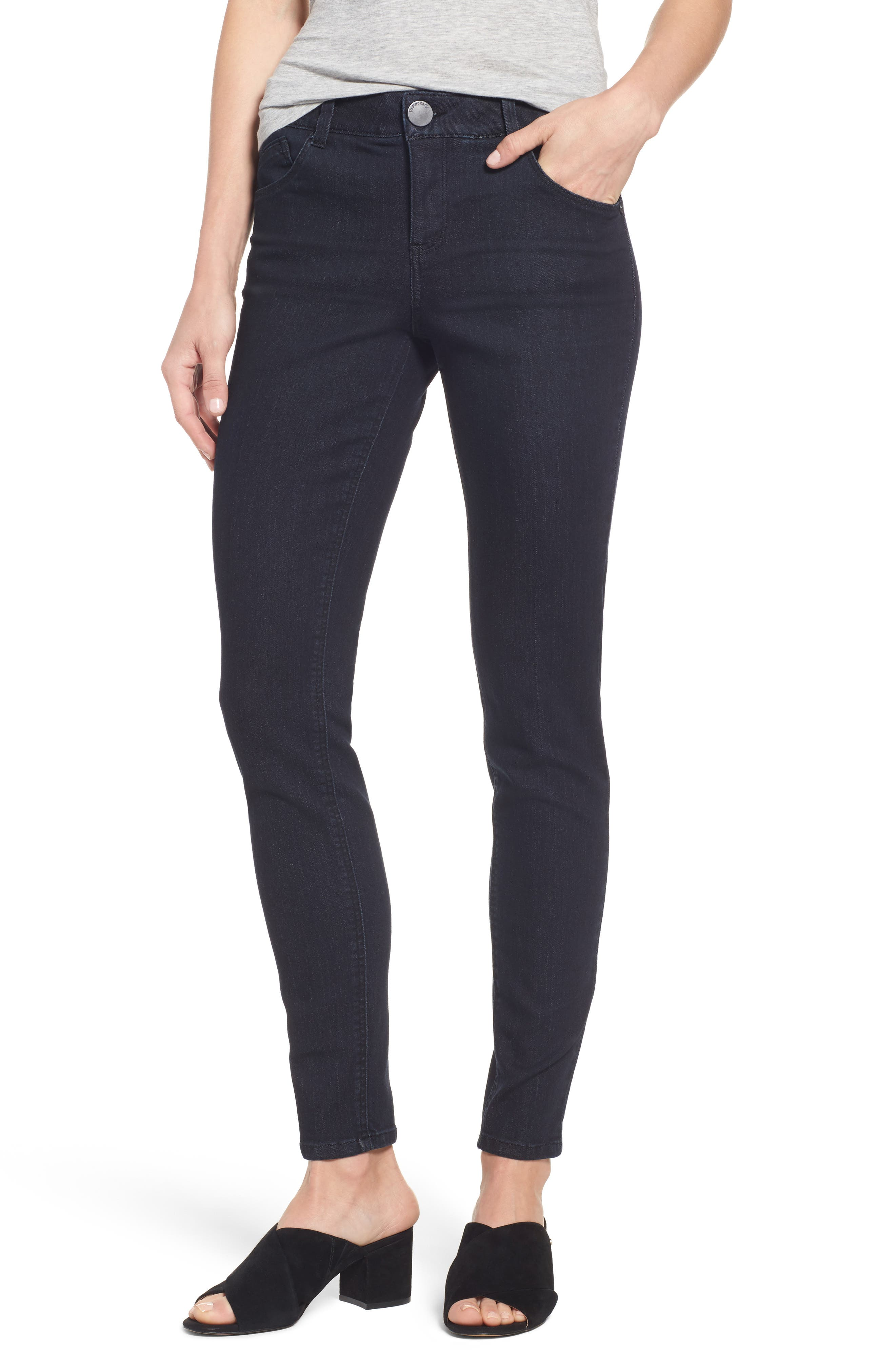 Main Image - Wit & Wisdom Ab-solution Stretch Skinny Jeans (Regular & Petite)(Nordstrom Exclusive)