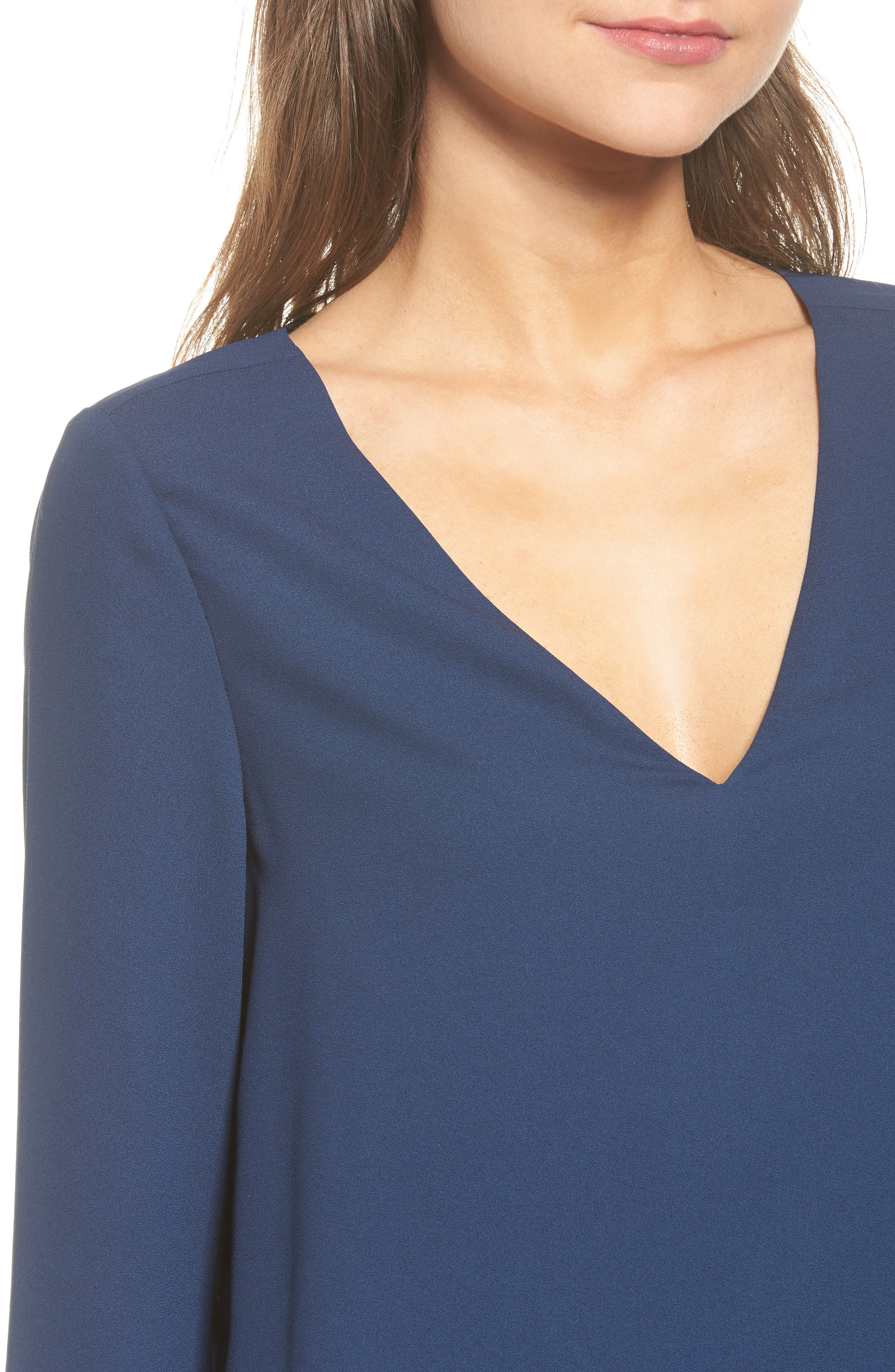Alternate Image 4  - cooper & ella Freja Long Sleeve Blouse