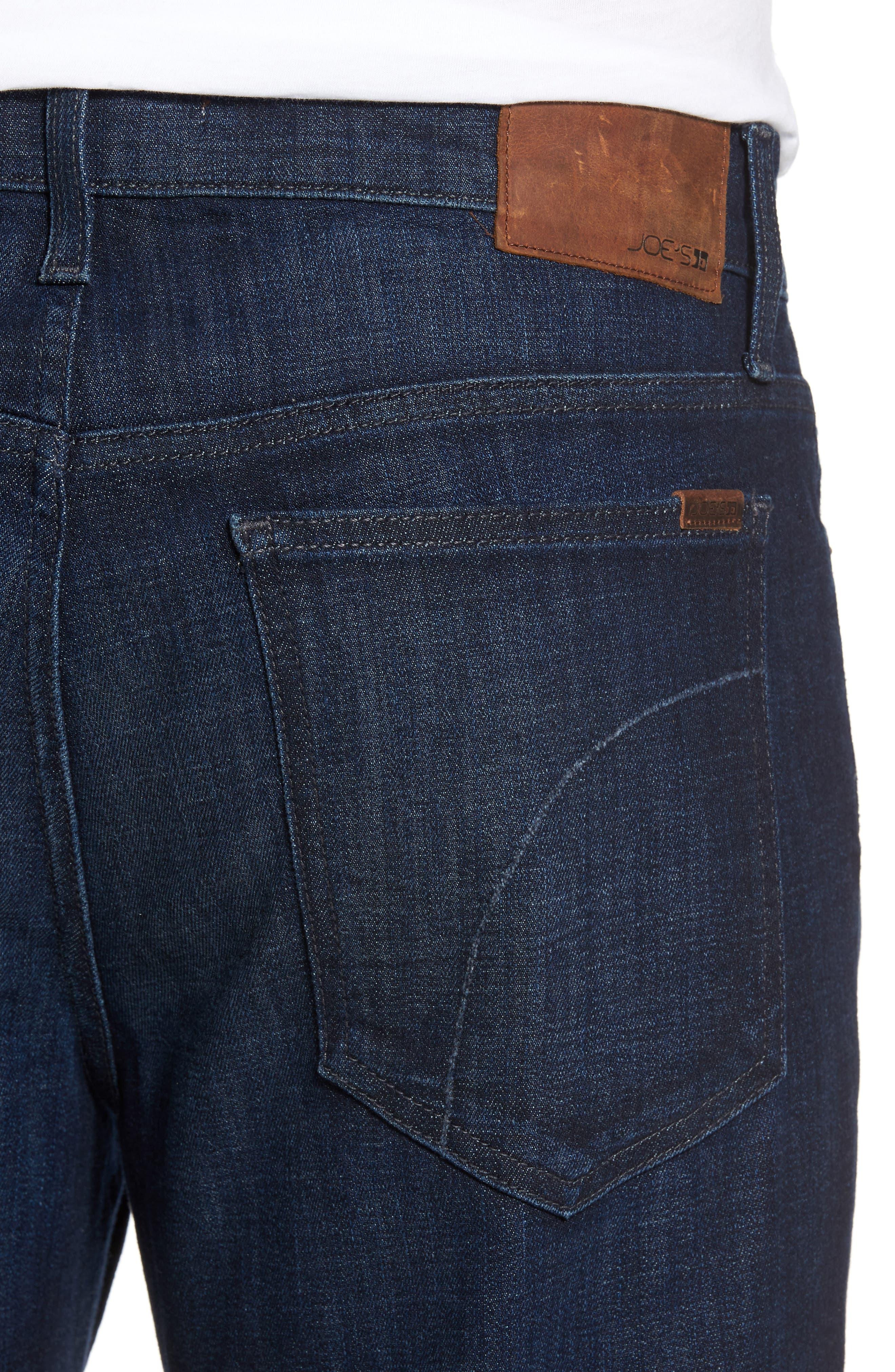 Alternate Image 4  - Joe's Rebel Relaxed Fit Jeans (Brooks)