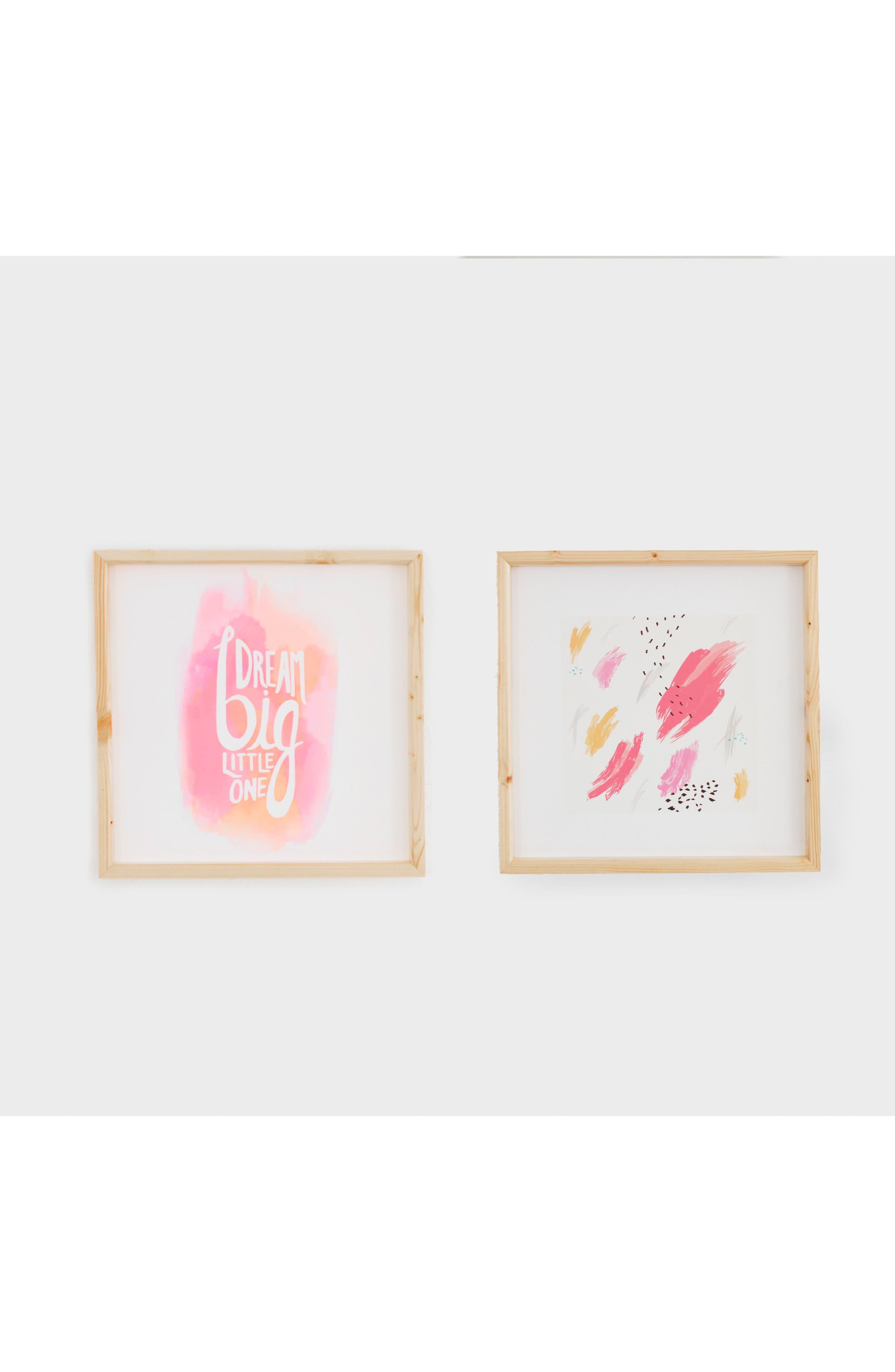 2-Piece Framed Art Set,                             Main thumbnail 1, color,                             Pink