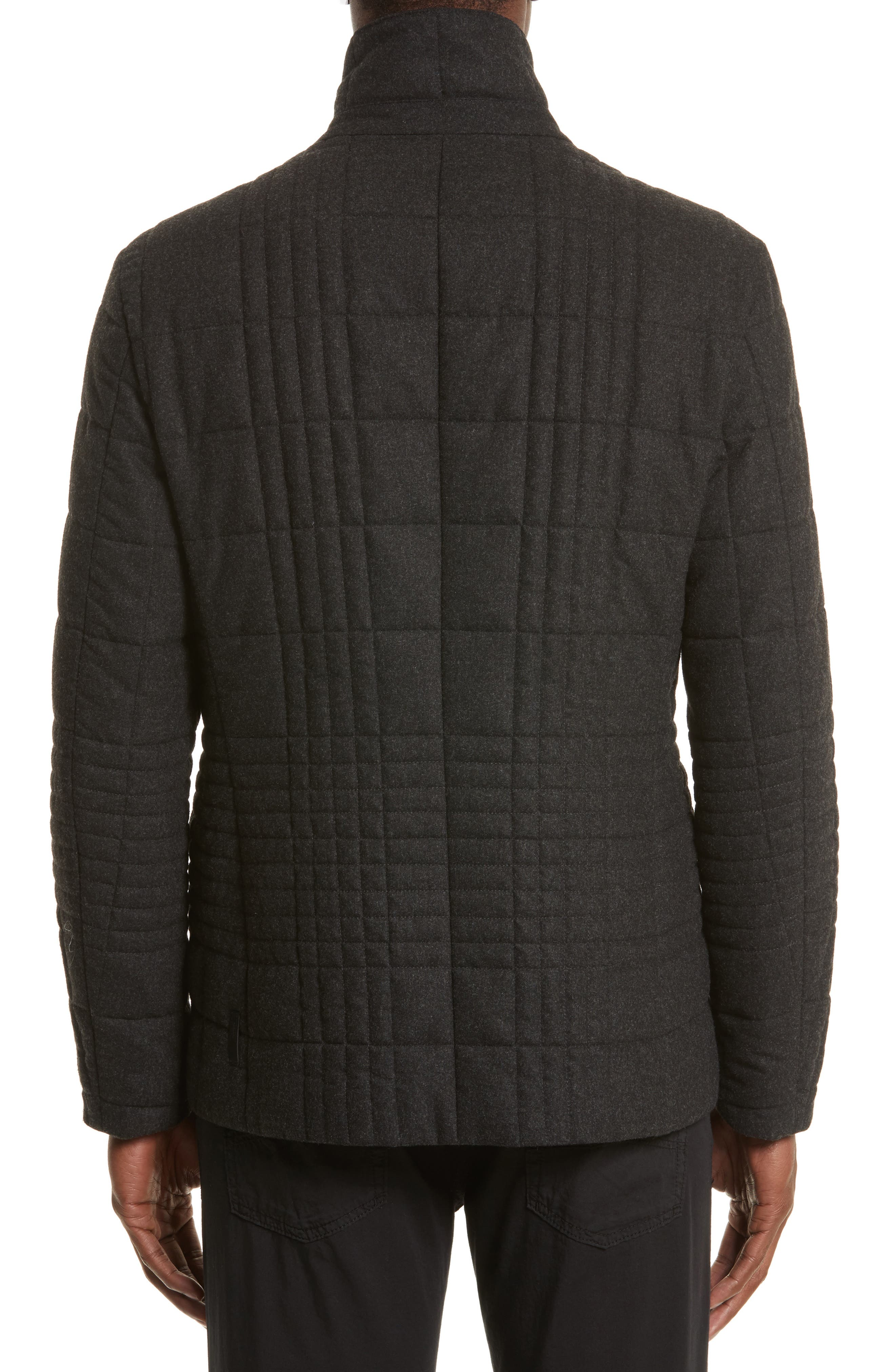 Alternate Image 2  - Armani Collezioni Quilted Field Jacket
