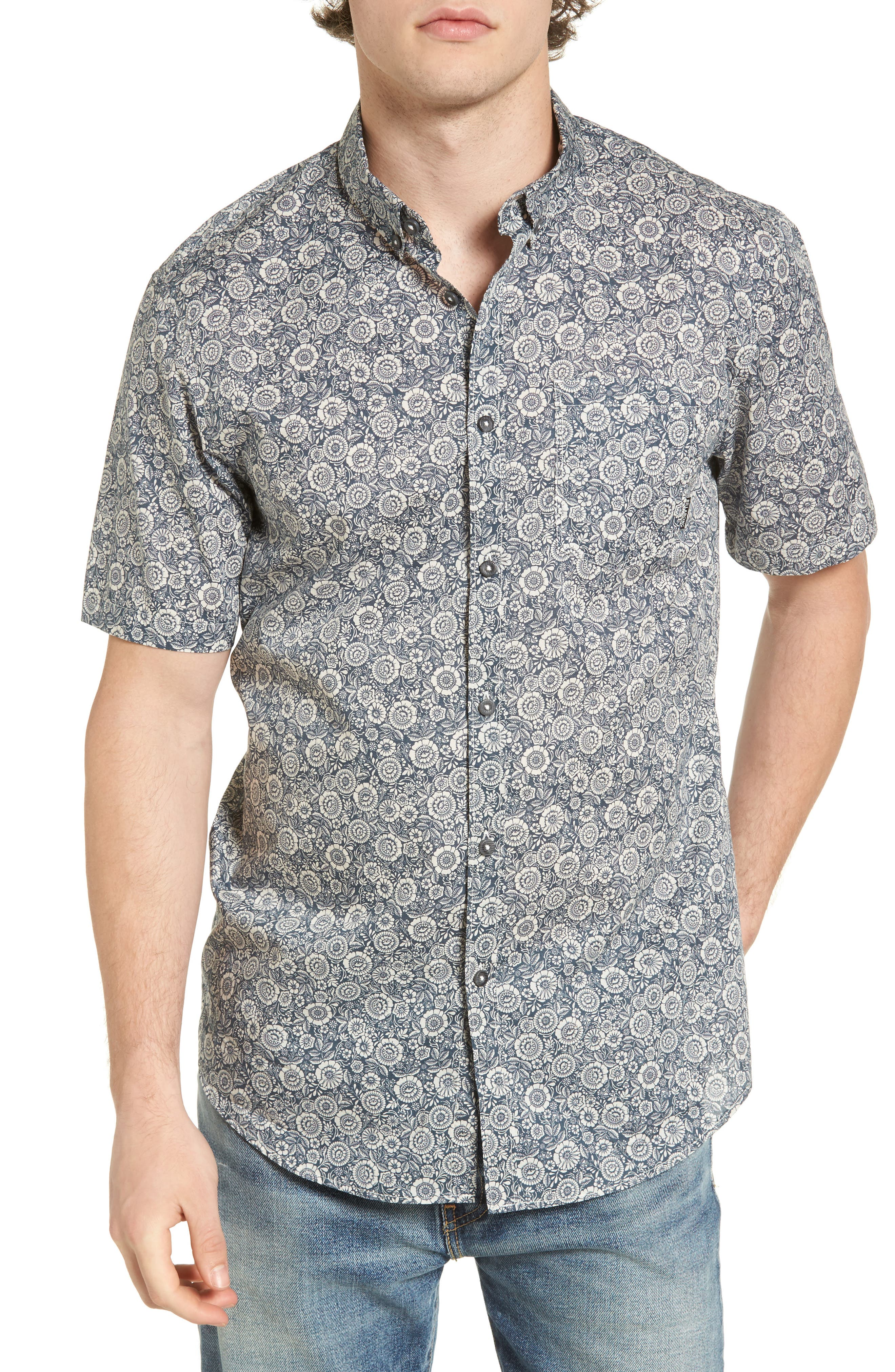 Alternate Image 1 Selected - Billabong Sundays Mini Woven Shirt