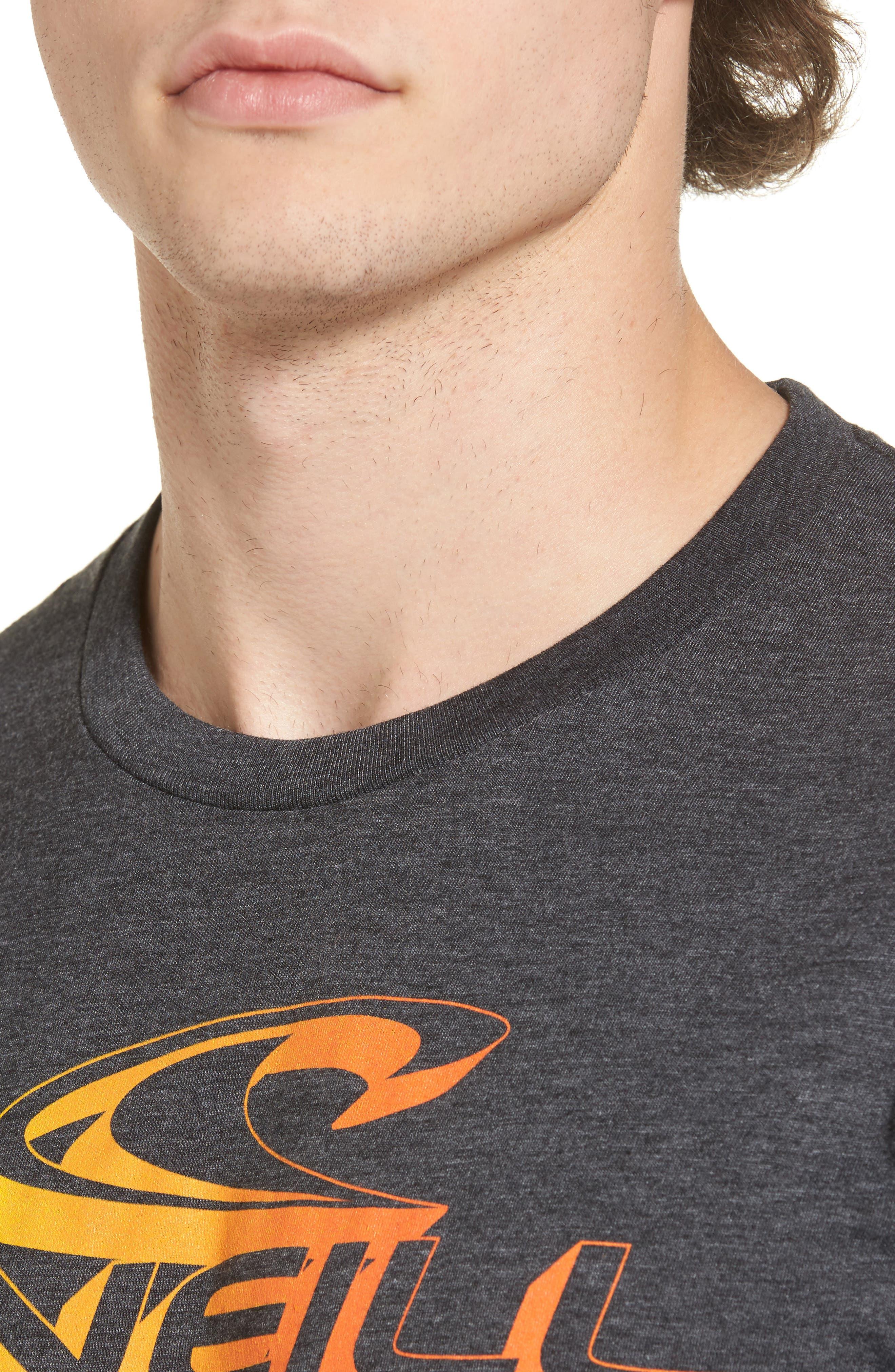 Alternate Image 4  - O'Neill Extra Logo Graphic T-Shirt