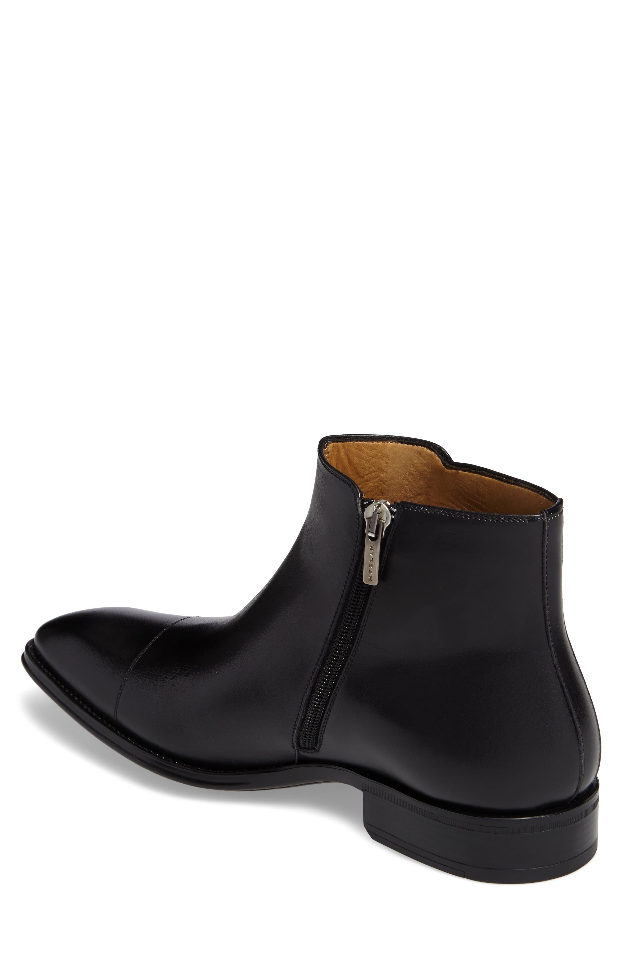 Casares II Zip Boot,                             Alternate thumbnail 2, color,                             Black