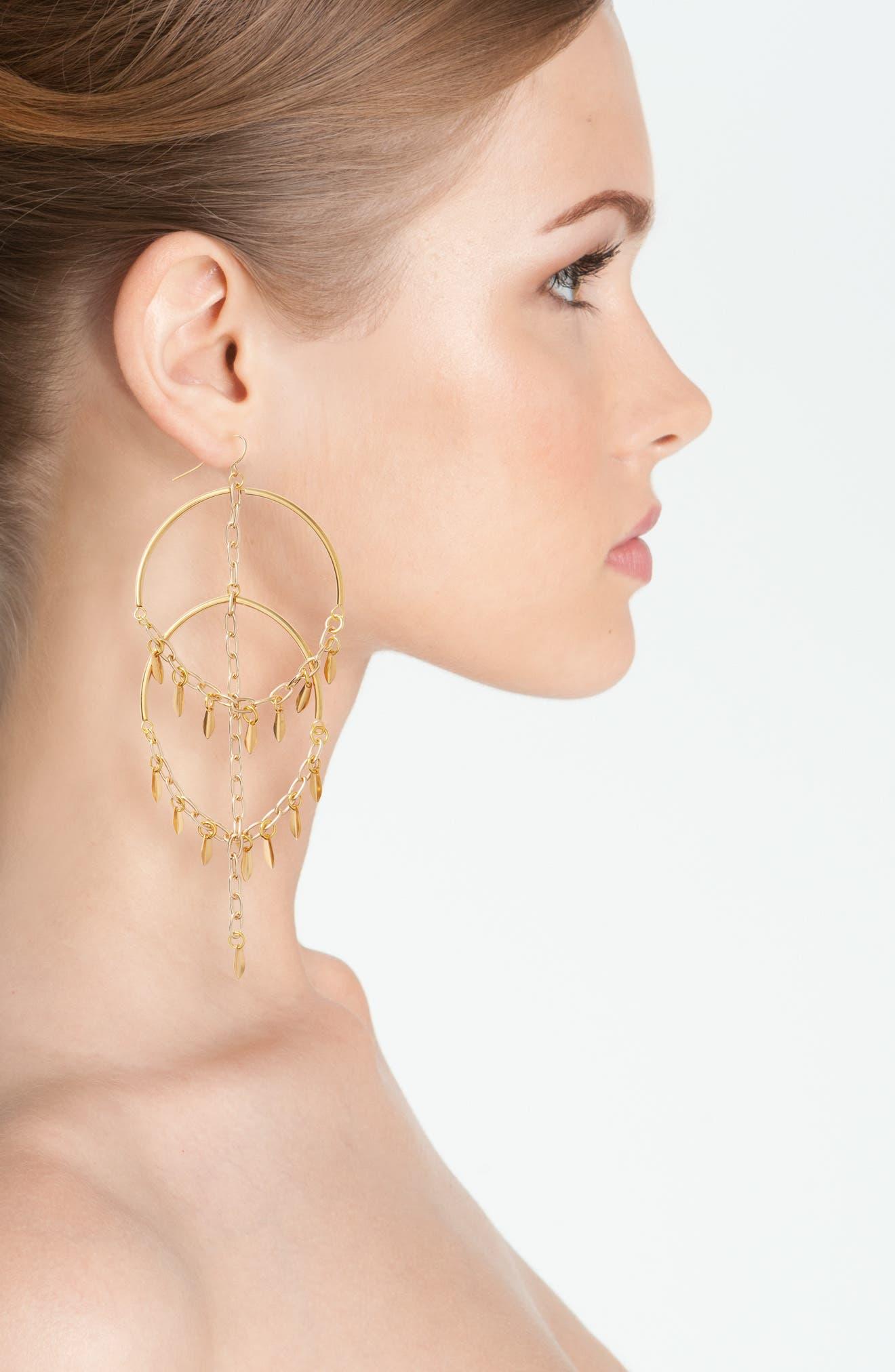Alternate Image 4  - Vanessa Mooney Cannes Chandelier Earrings