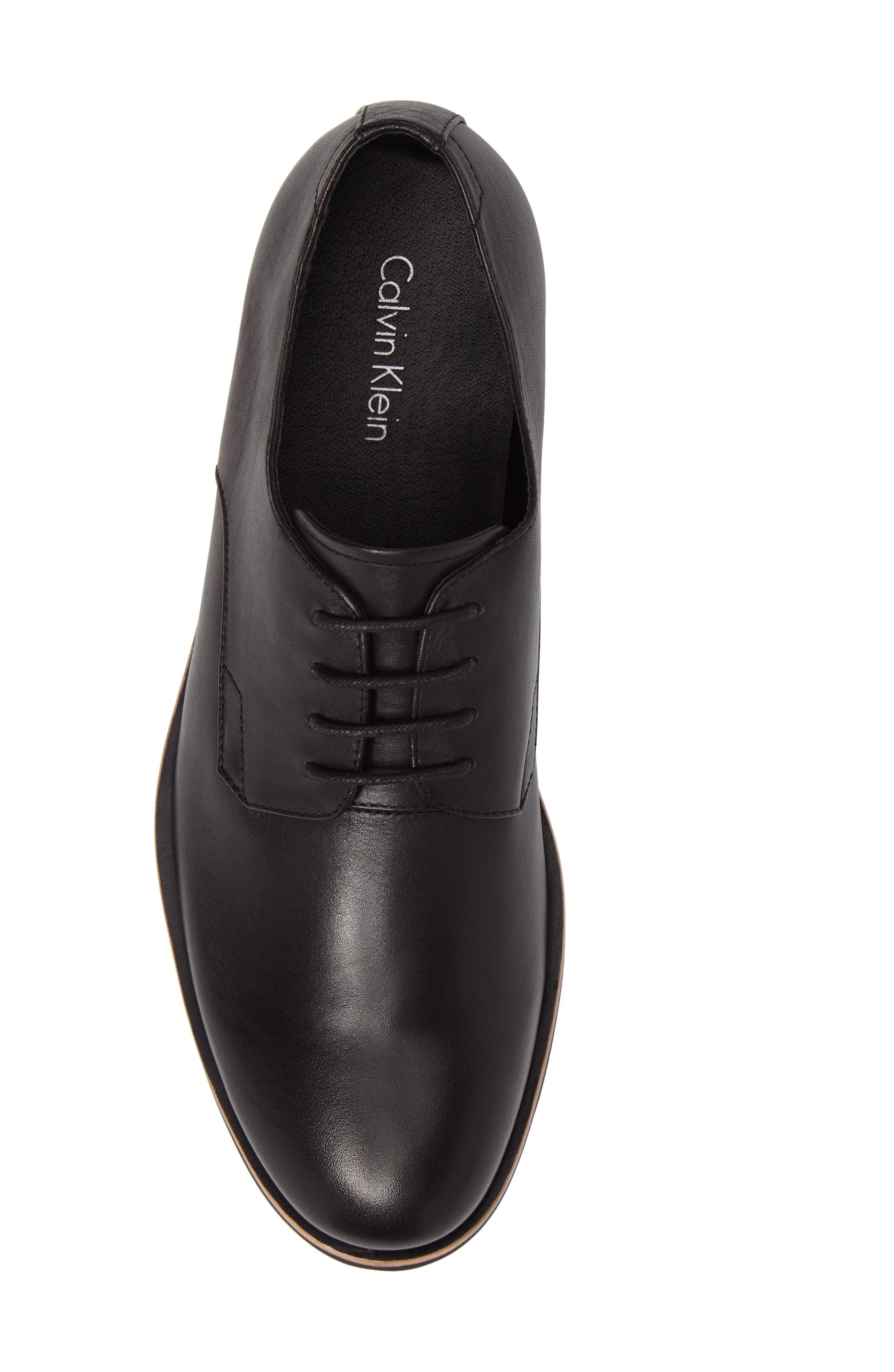 Alternate Image 5  - Calvin Klein Plain Toe Derby (Men)