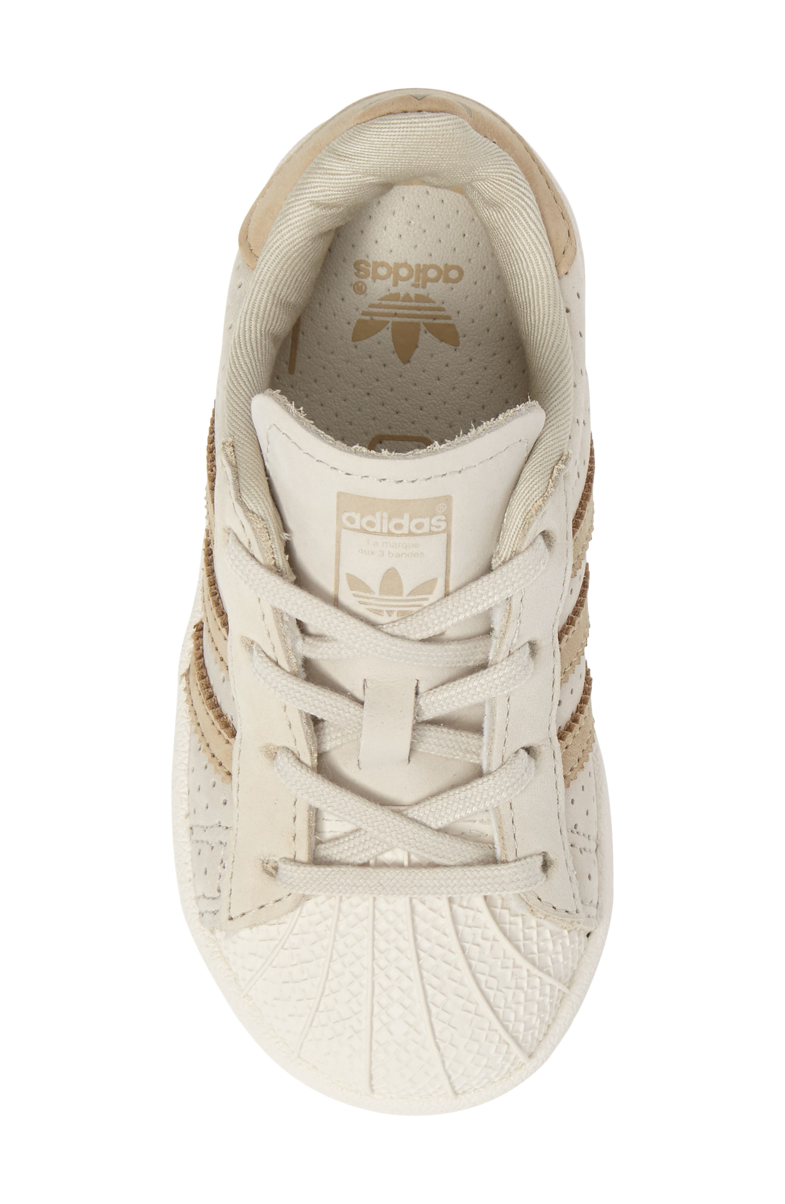 Alternate Image 5  - adidas Stan Smith Fashion I Perforated Sneaker (Baby, Walker, Toddler & Little Kid)