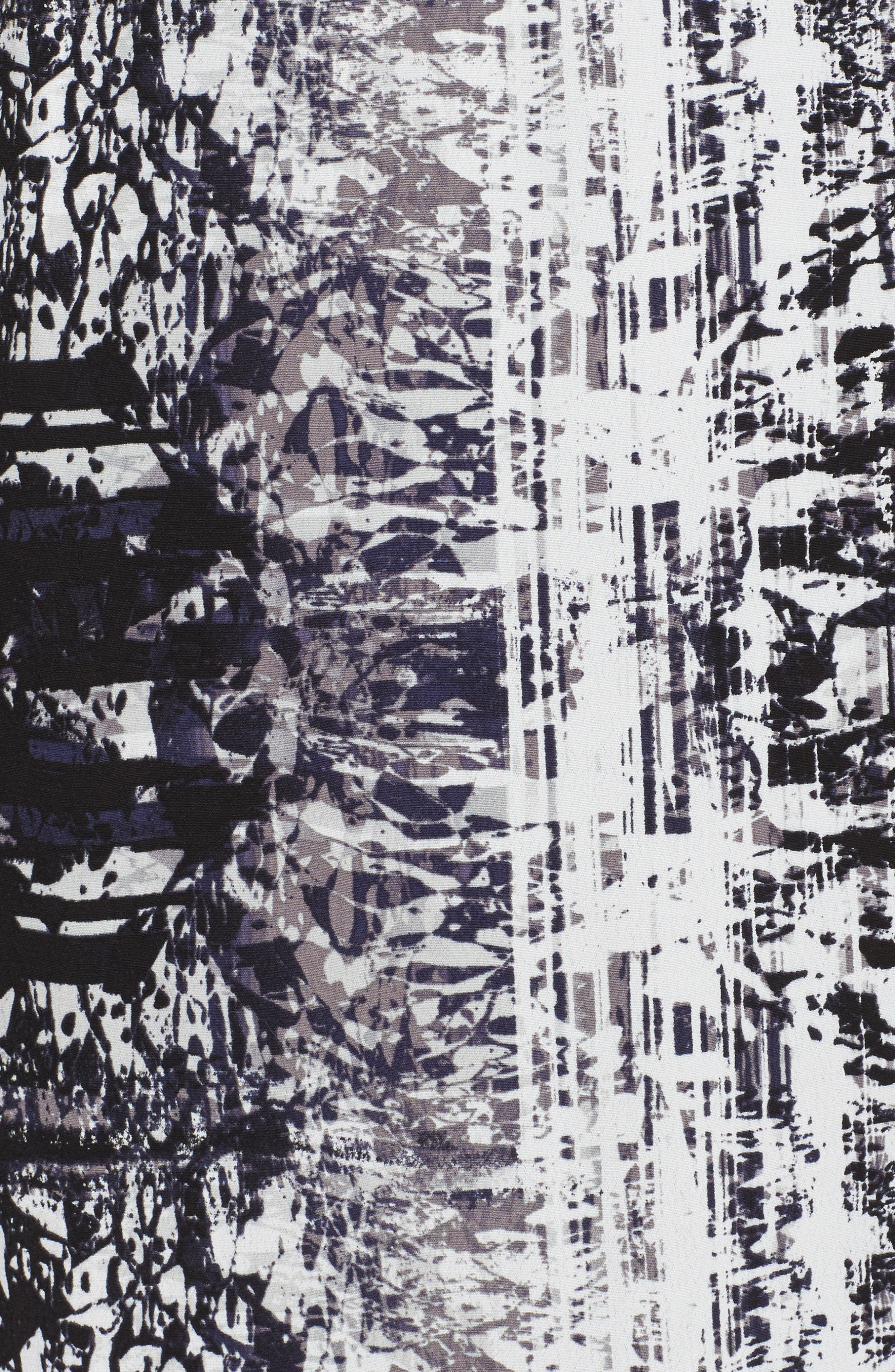 Alternate Image 5  - Sejour Dolman Sleeve Shift Dress (Plus Size)