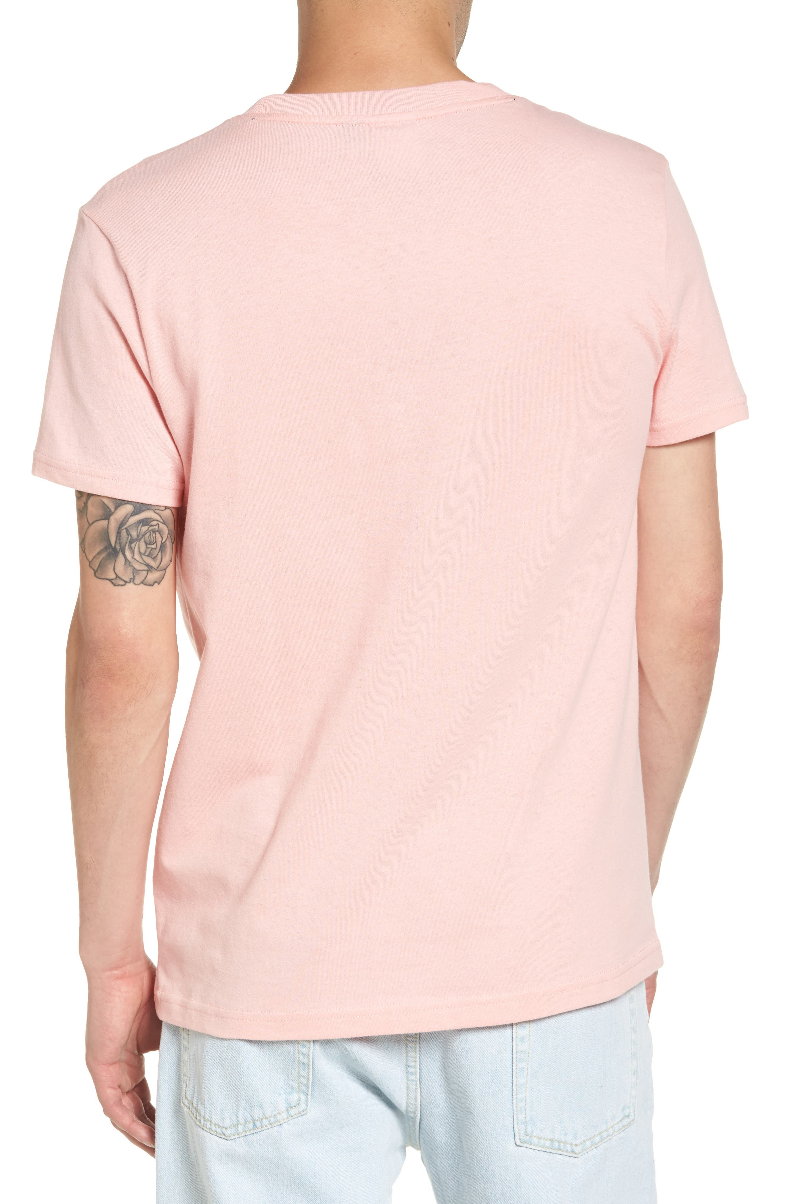 '90s Flat T-Shirt,                             Alternate thumbnail 2, color,                             Quartz Pink
