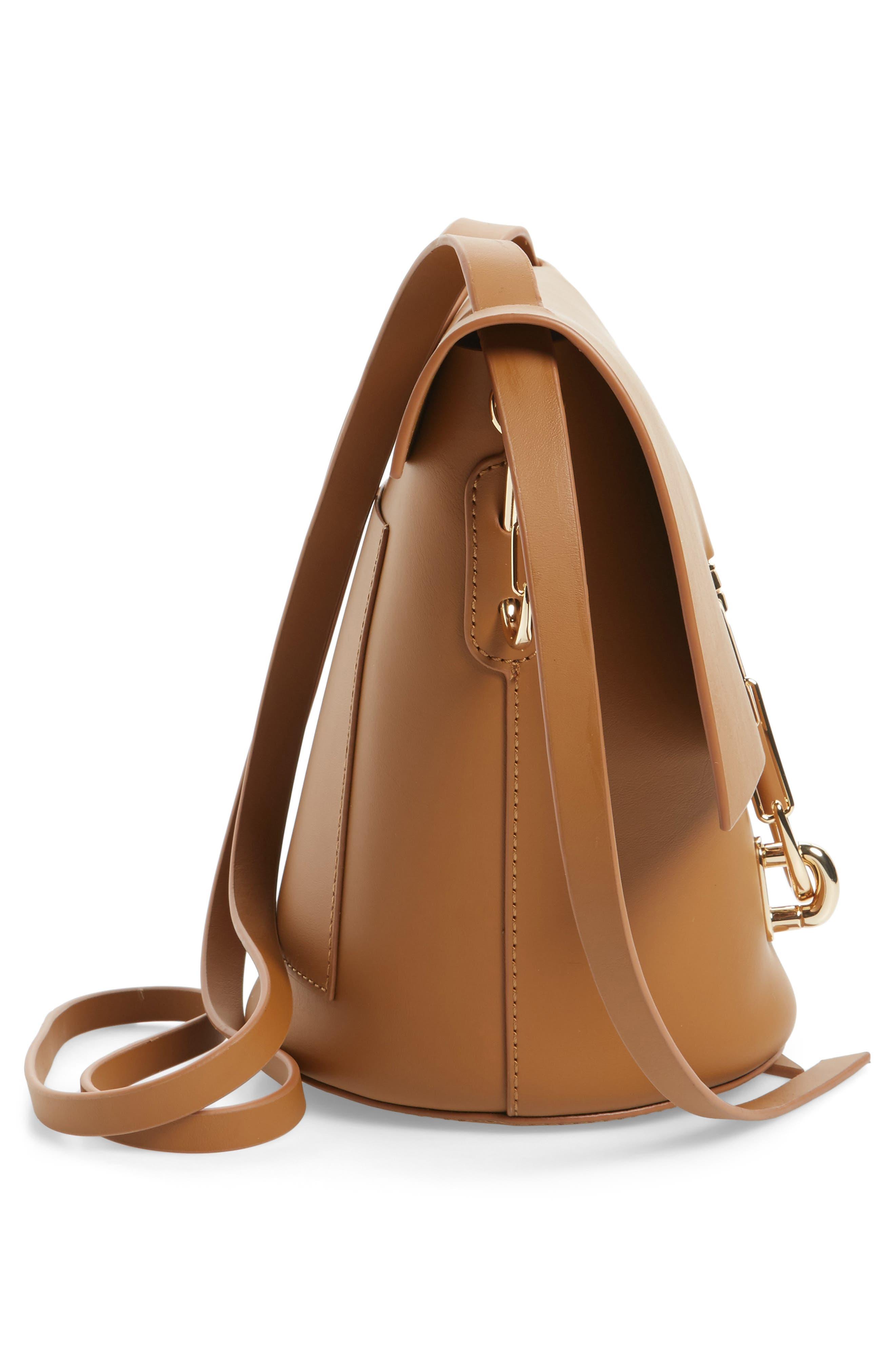 Alternate Image 4  - ZAC Zac Posen Belay Leather Crossbody Bag
