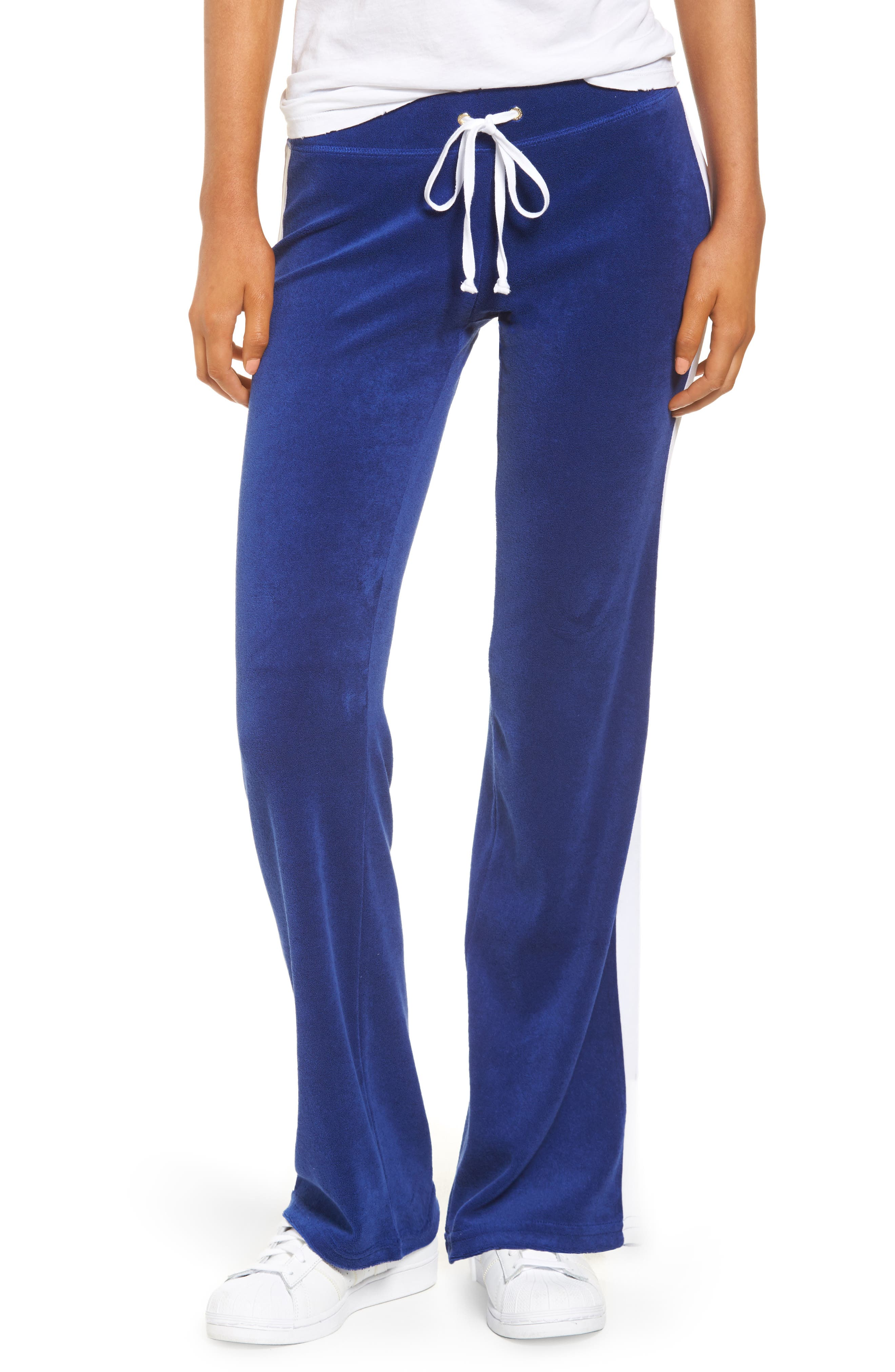Alternate Image 1 Selected - Juicy Couture Venice Beach Del Ray Microterry Pants