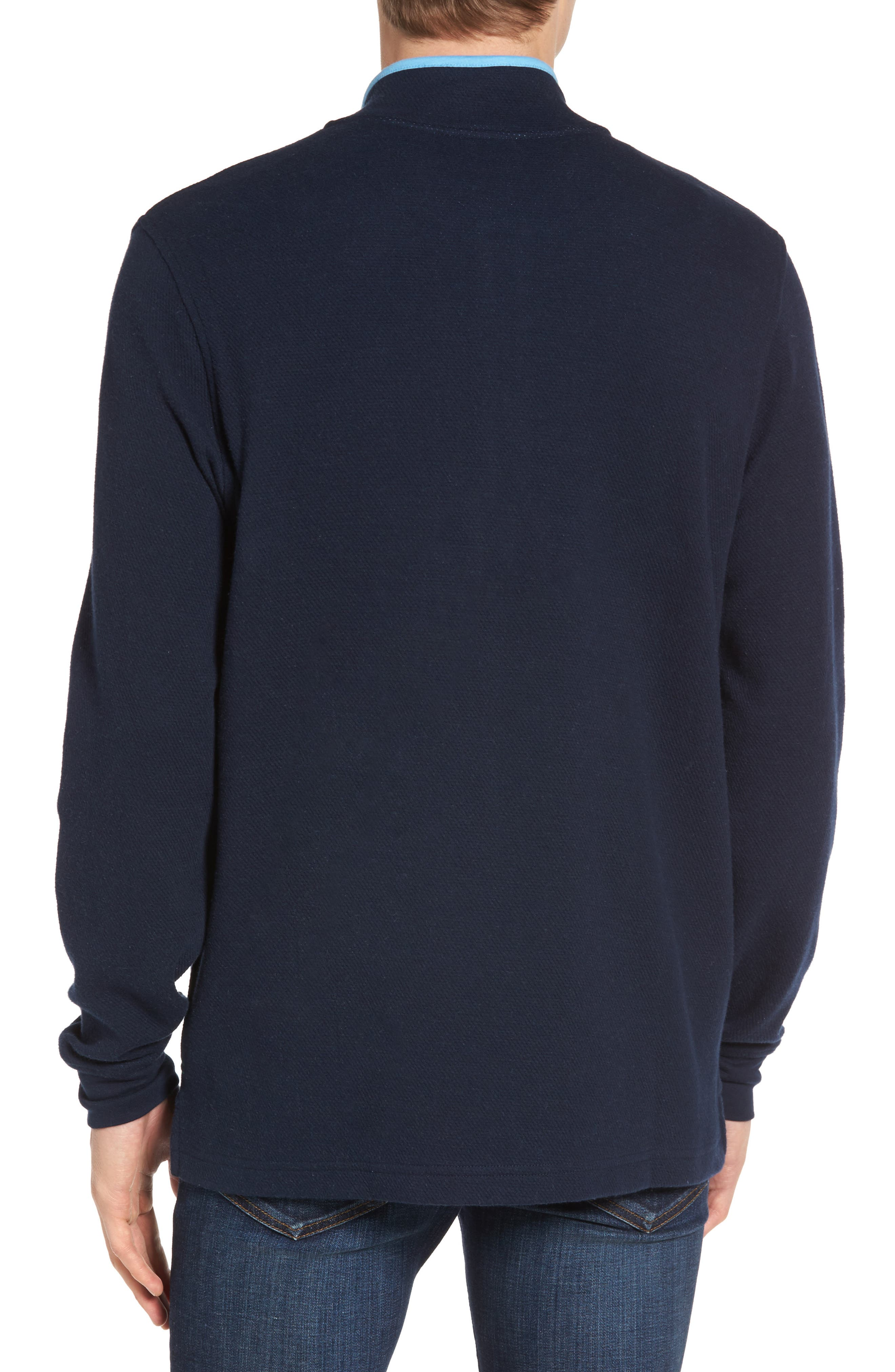 Alternate Image 2  - Psycho Bunny Golf Half Zip Pullover