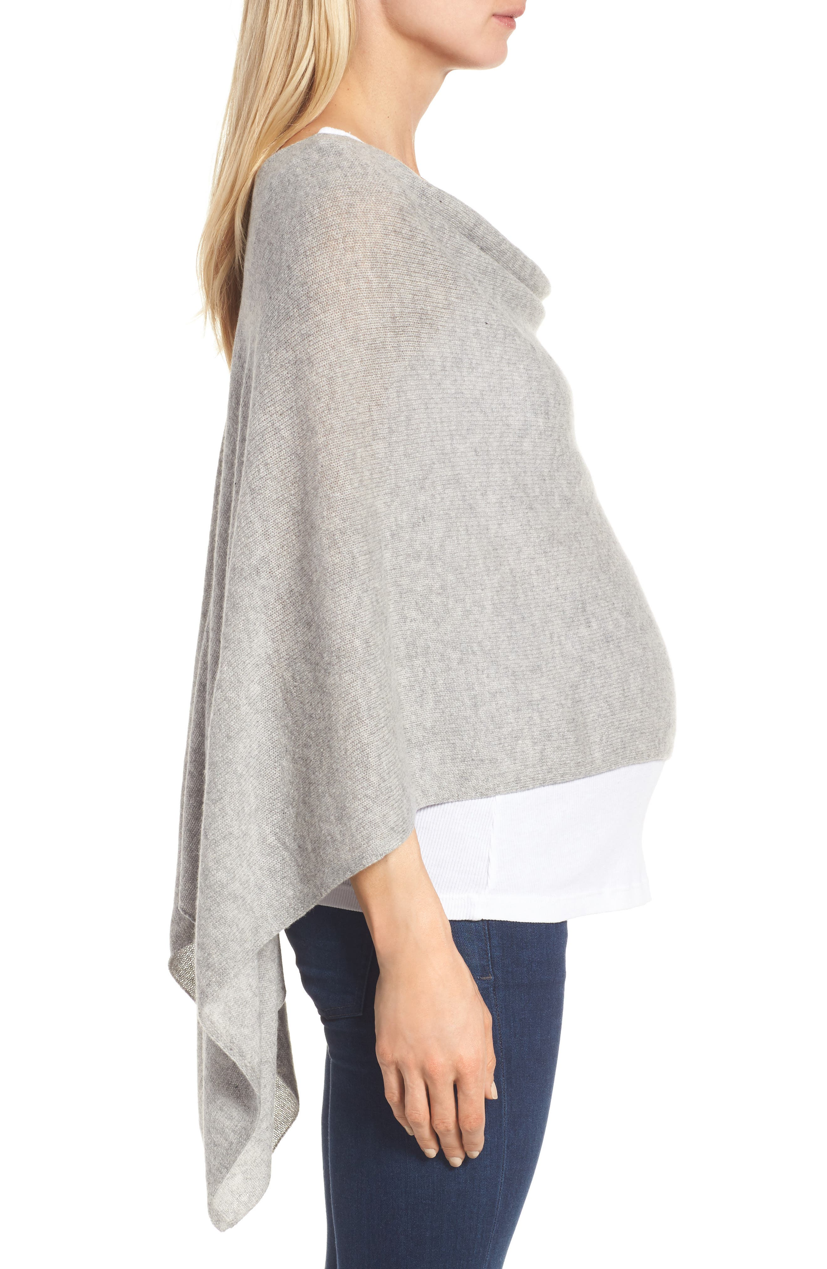 Alternate Image 3  - Tees by Tina Cashmere Maternity Cape