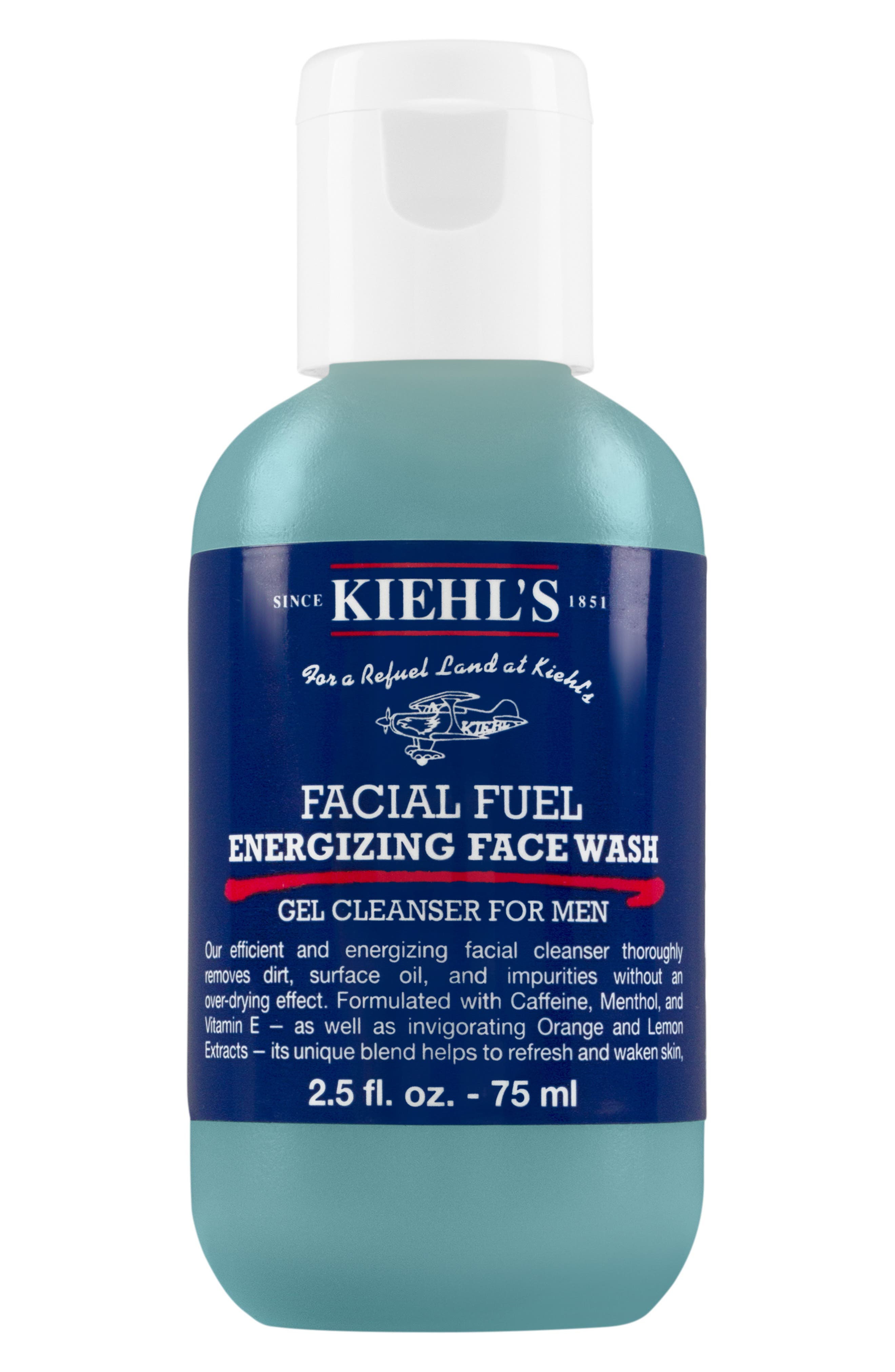 Alternate Image 2  - Kiehl's Since 1851 Facial Fuel Energizing Face Wash