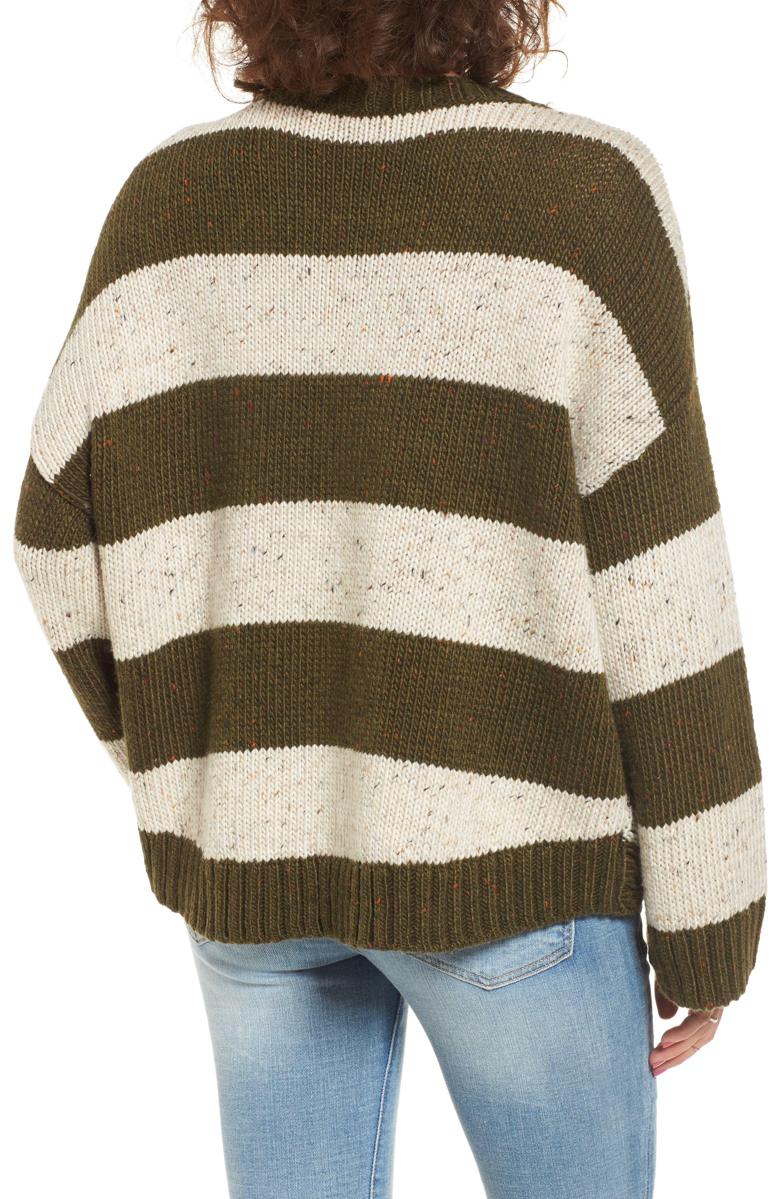 Alternate Image 2  - BP. Distressed Stripe Pullover