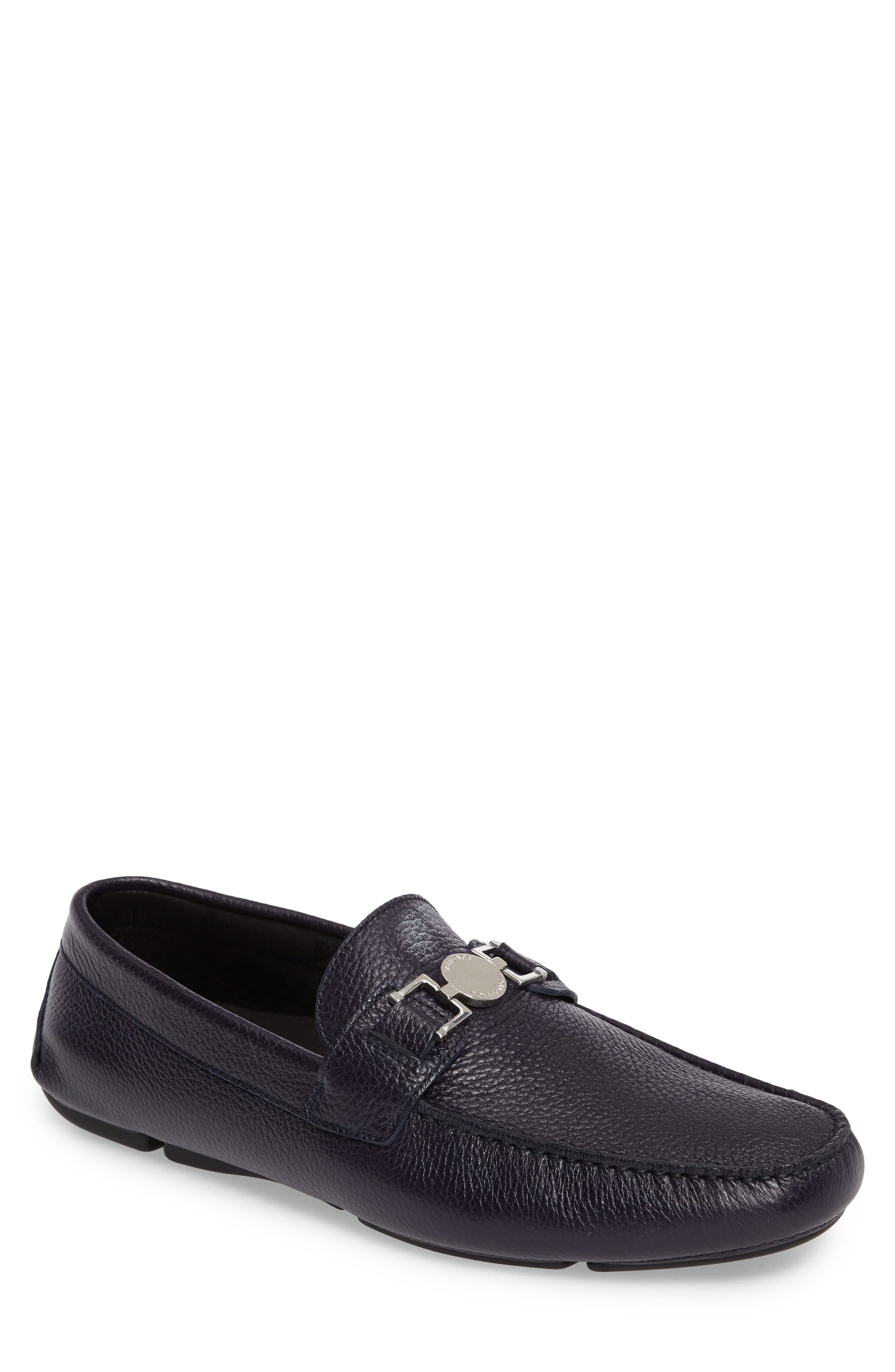 Alternate Image 1 Selected - Versace Driving Shoe (Men)