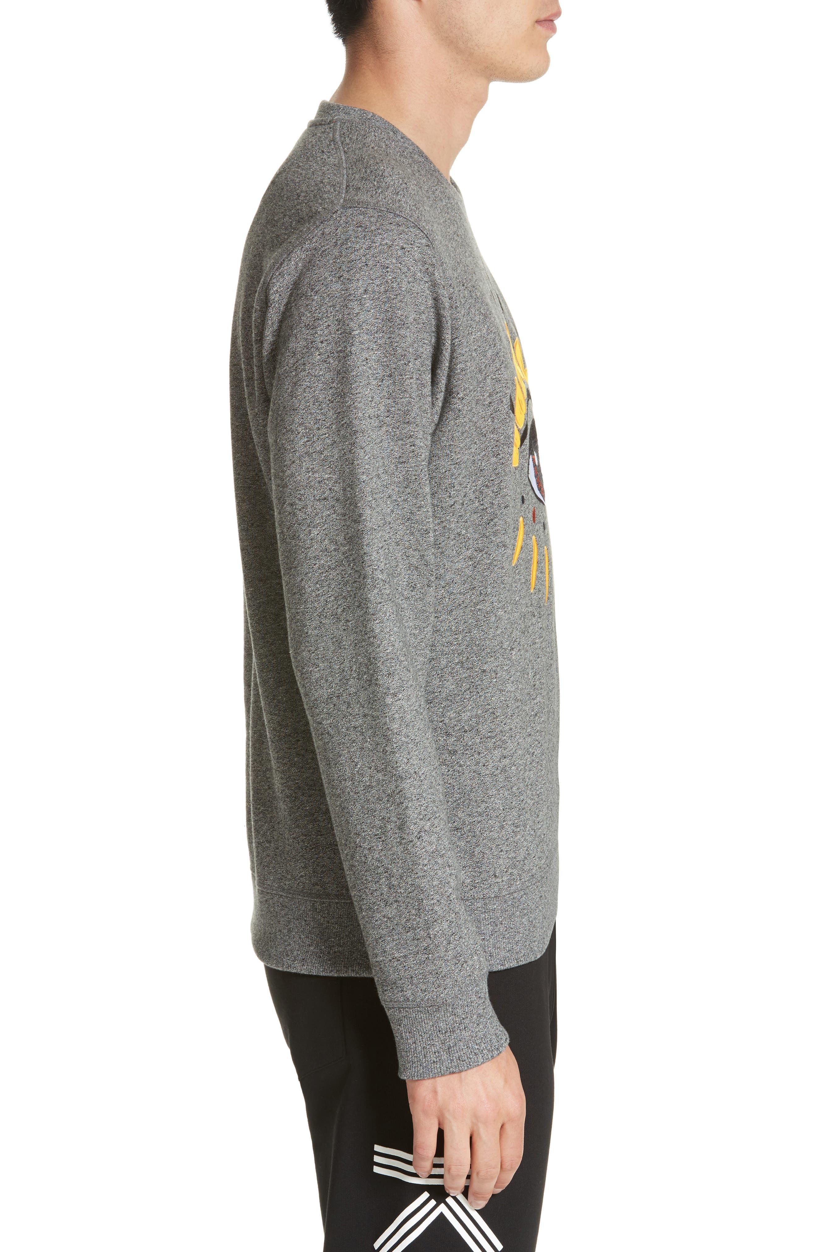 Alternate Image 3  - KENZO Eye Graphic Sweatshirt