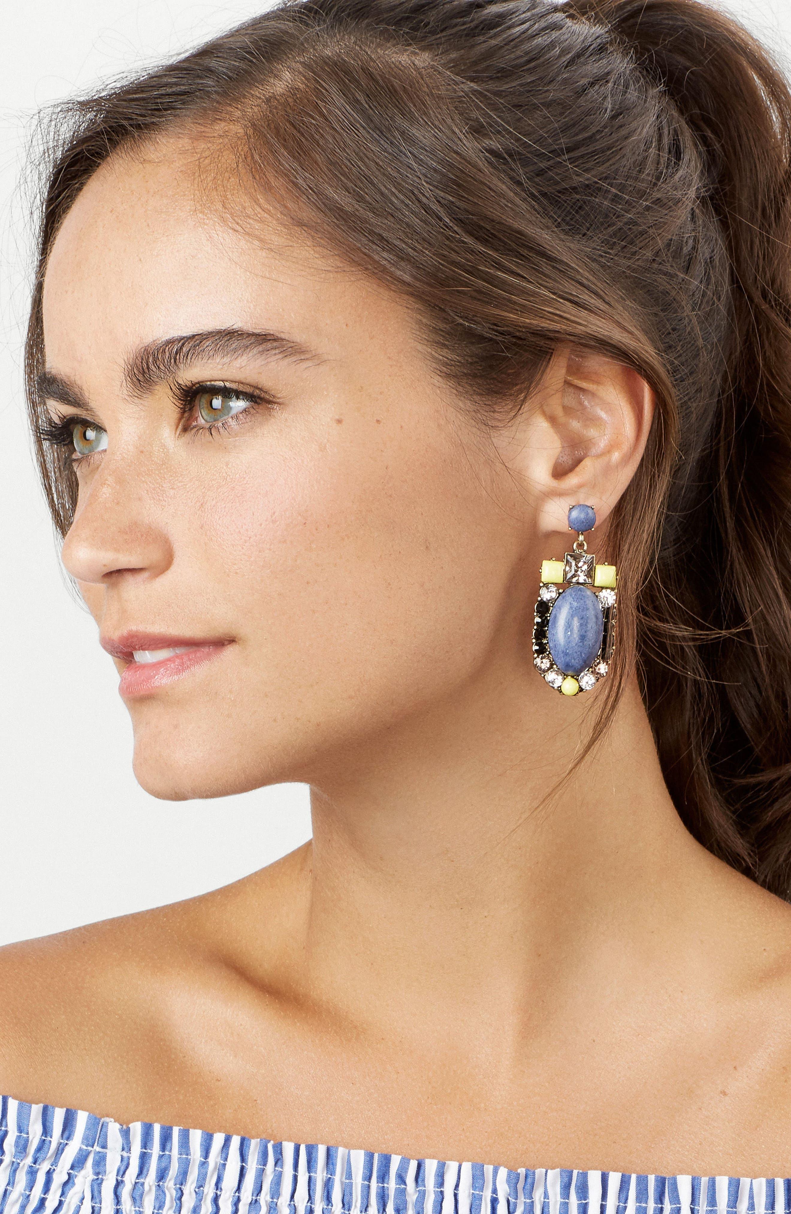 Alternate Image 2  - BaubleBar Silverstream Drop Earrings