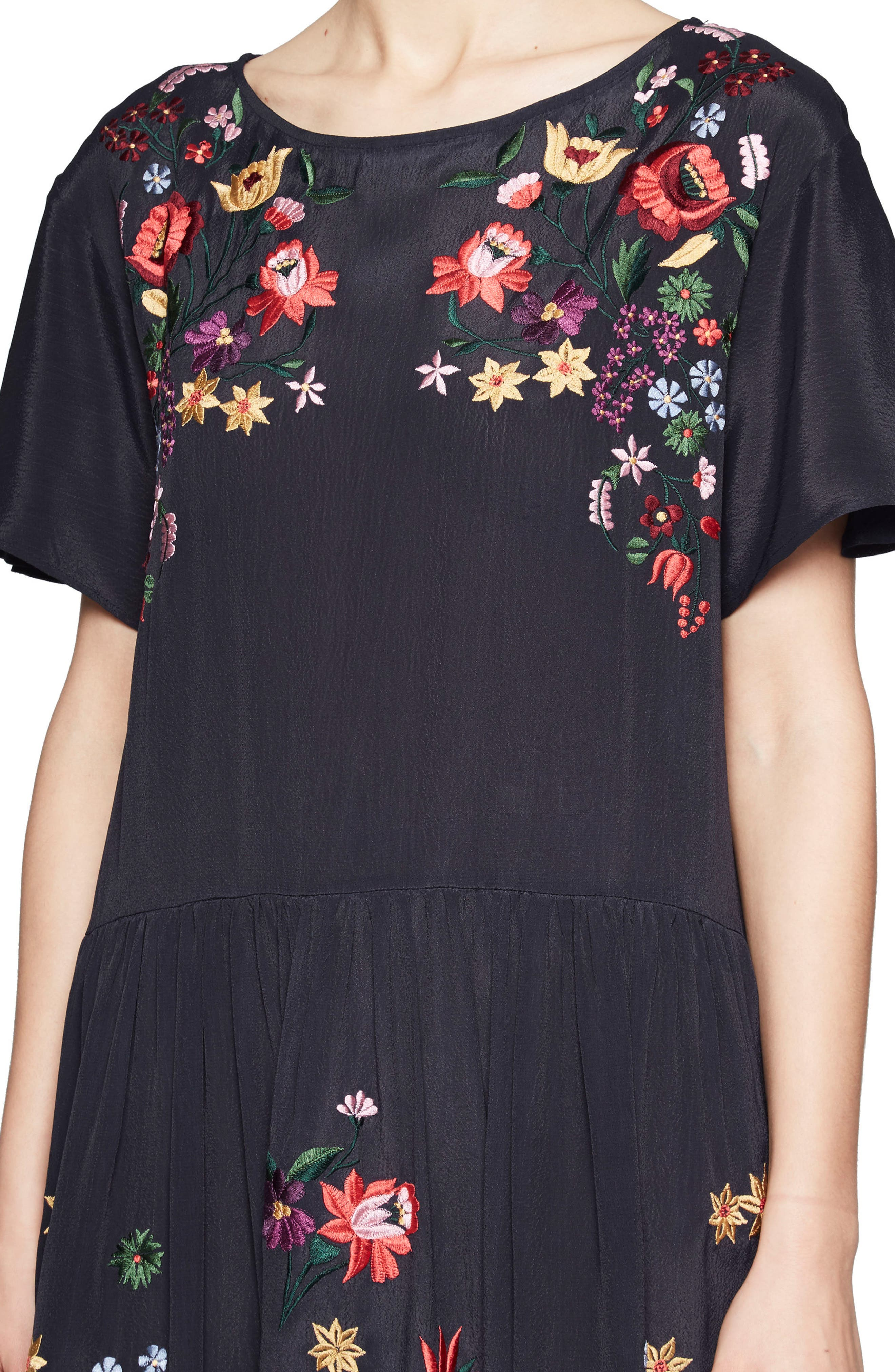 Alternate Image 3  - French Connection Alice Embroidered Dress