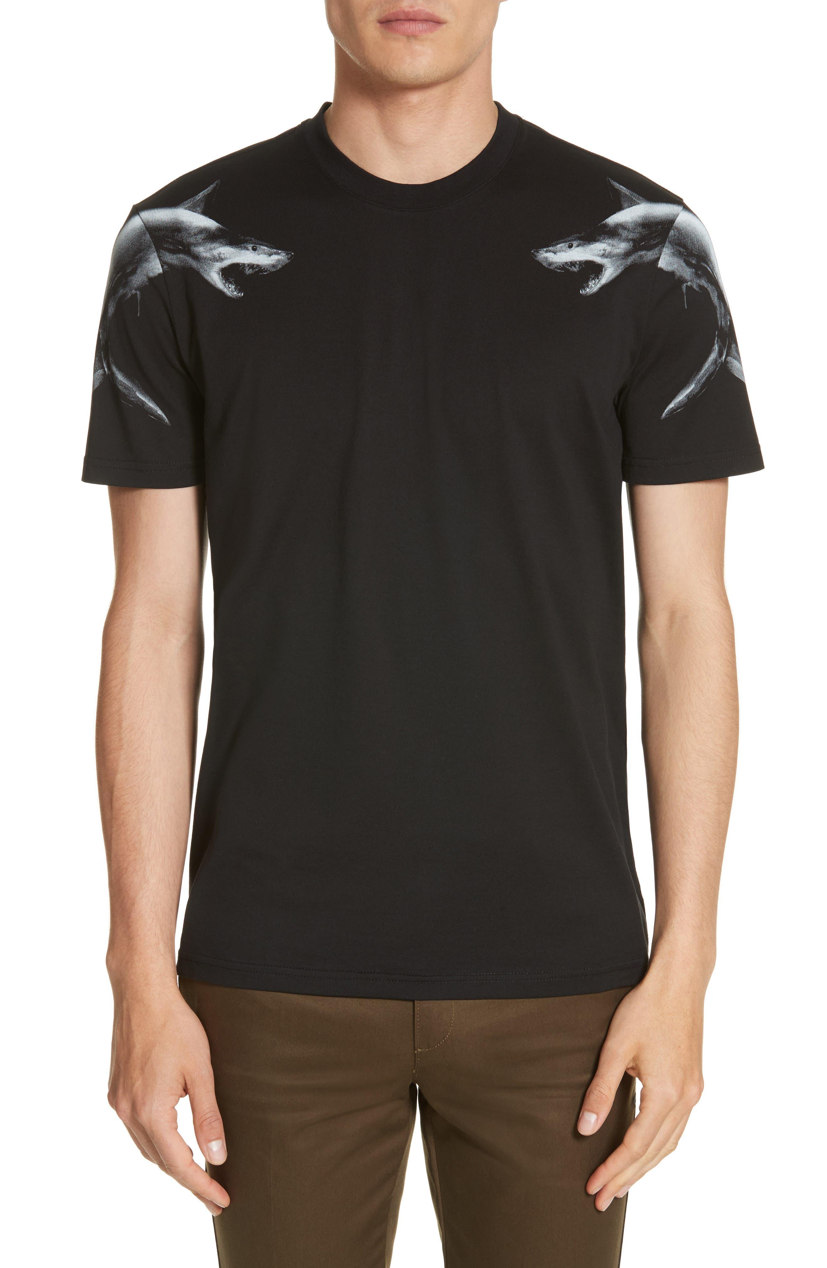 Cuban Fit Graphic T-Shirt,                             Main thumbnail 1, color,                             Black