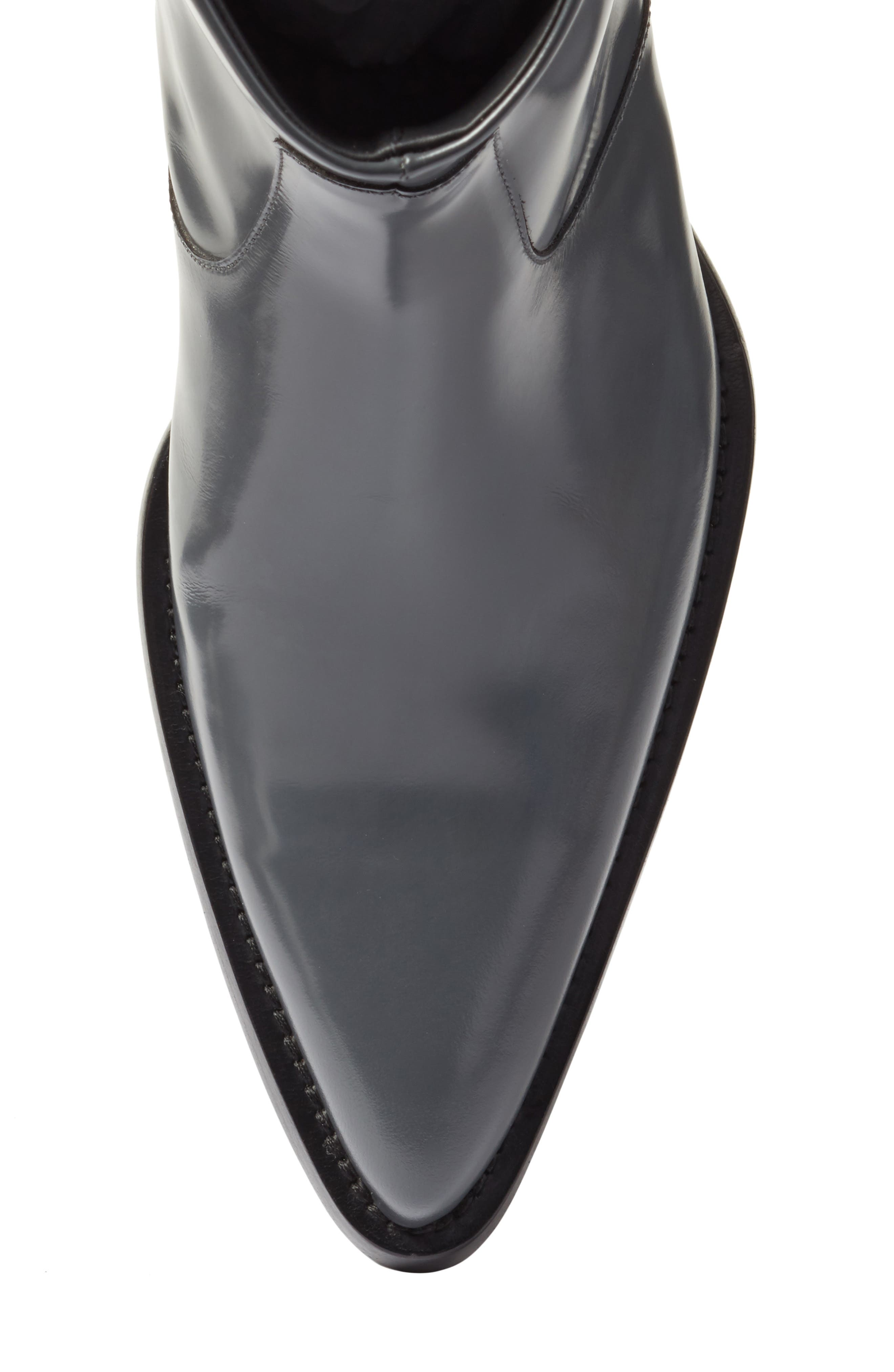 Tex Boot,                             Alternate thumbnail 5, color,                             Anthracite Leather