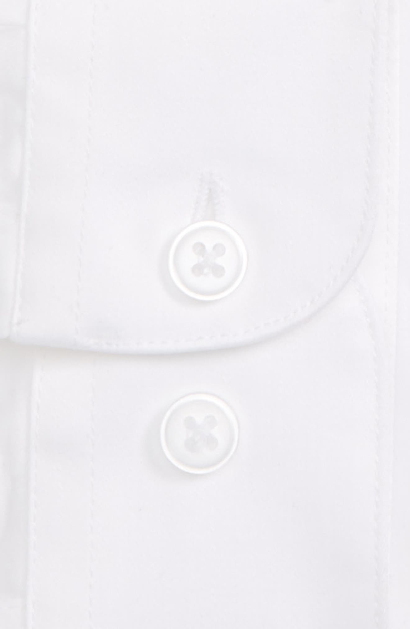 Dress Shirt,                             Alternate thumbnail 5, color,                             White