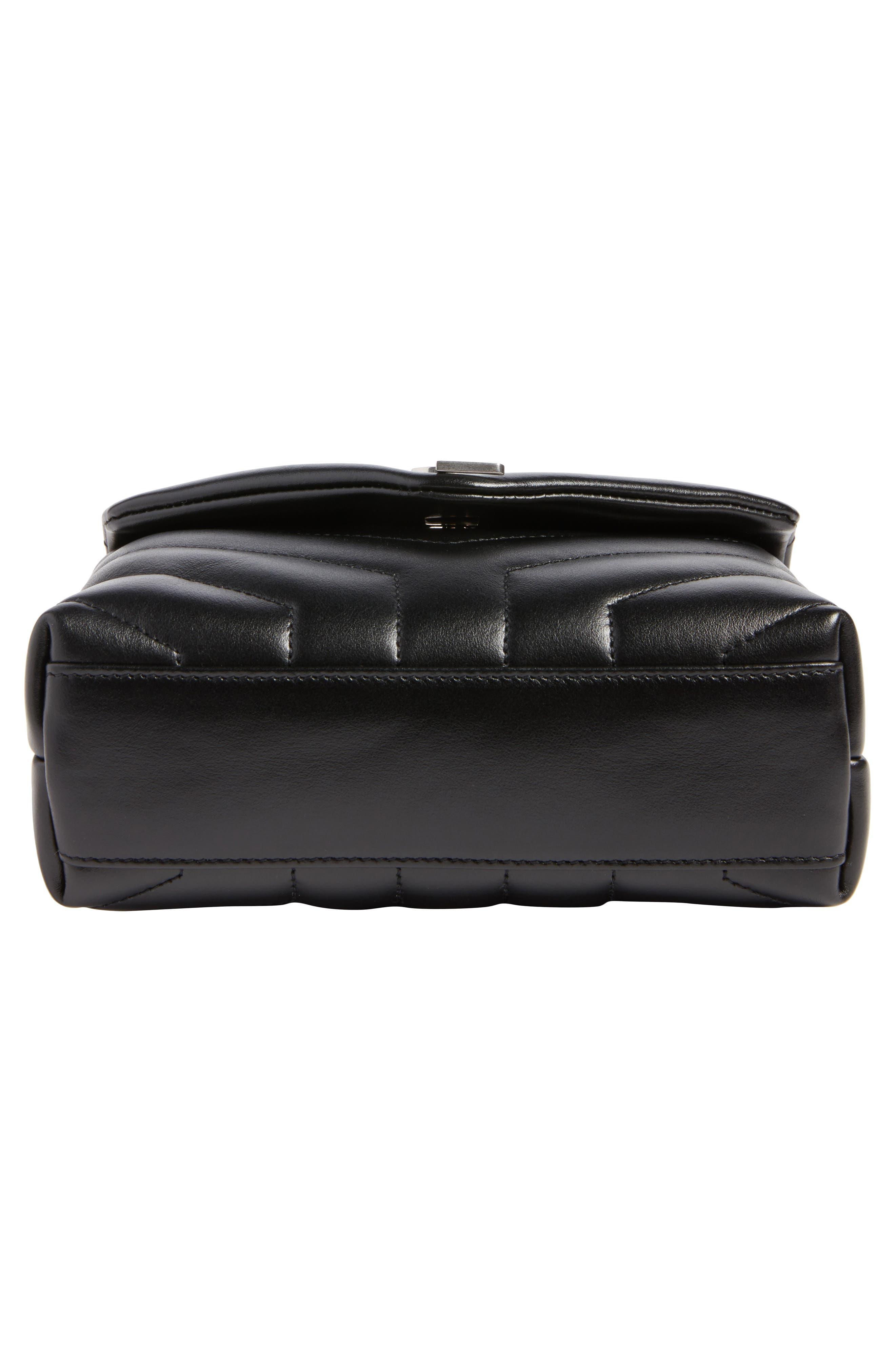 Alternate Image 6  - Saint Laurent Toy LouLou Calfskin Leather Crossbody Bag
