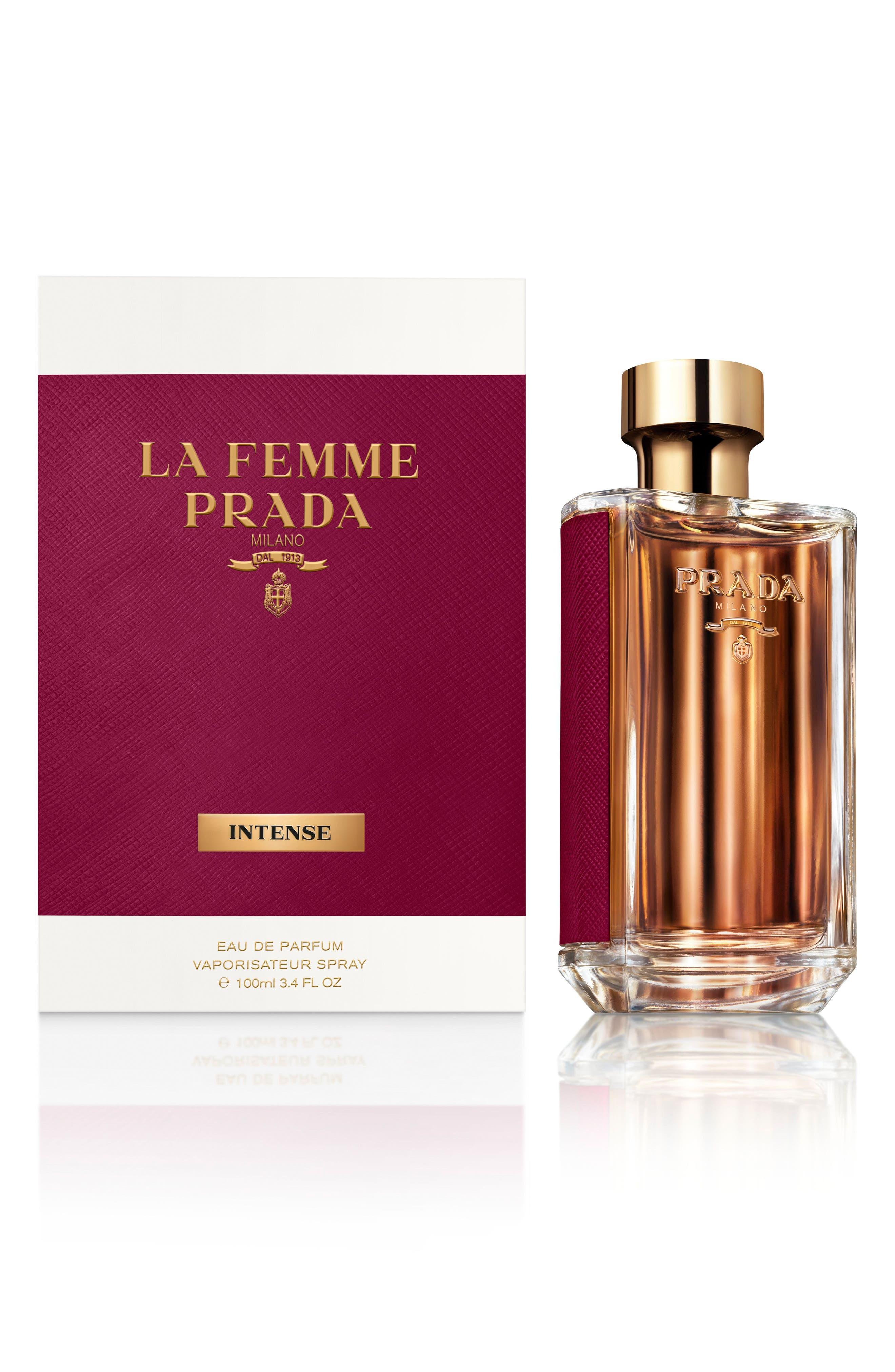 La Femme Prada Intense Eau de Parfum,                             Alternate thumbnail 4, color,                             No Color