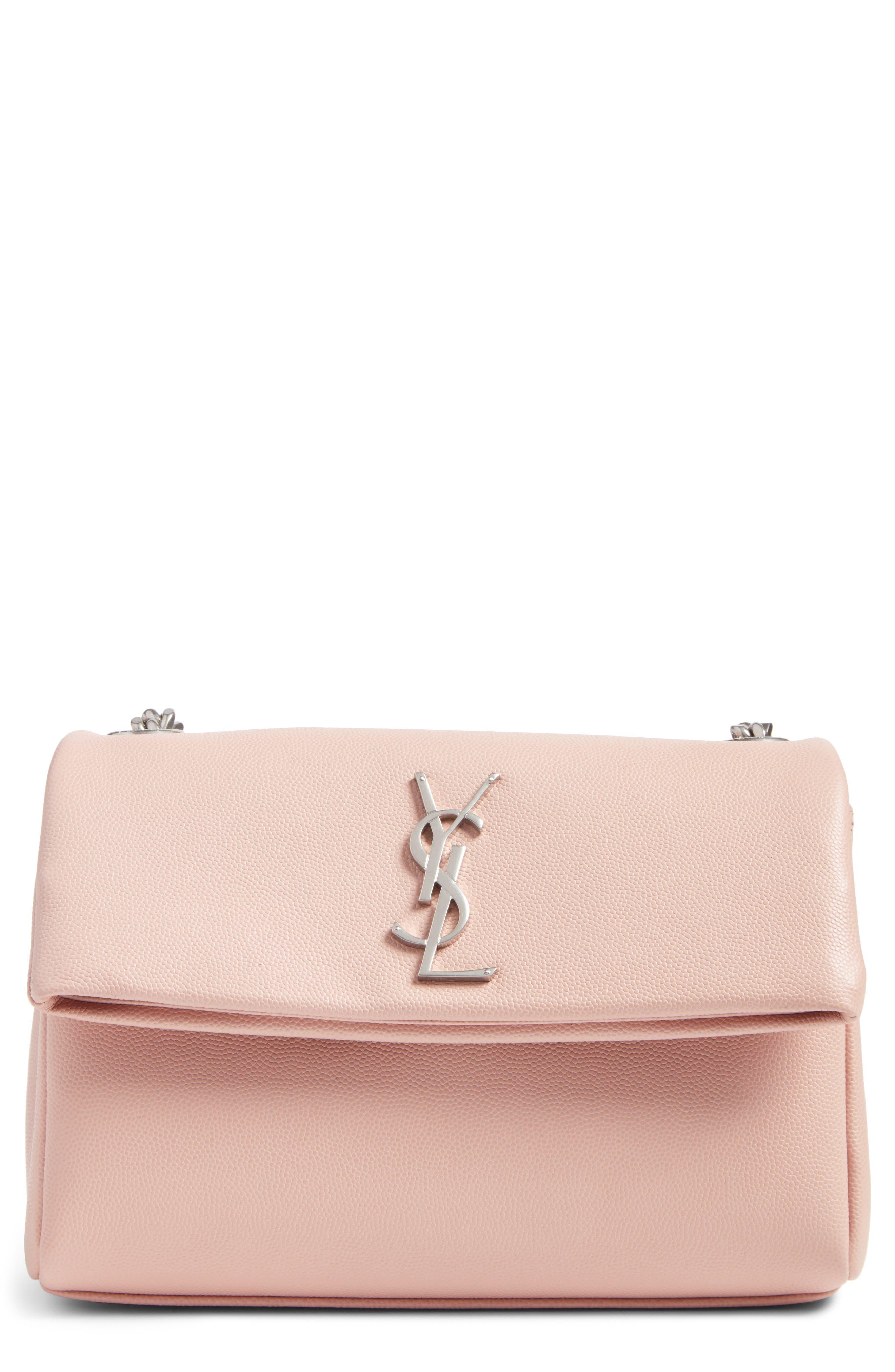 Saint Laurent West Hollywood Calfskin Leather Messenger Bag