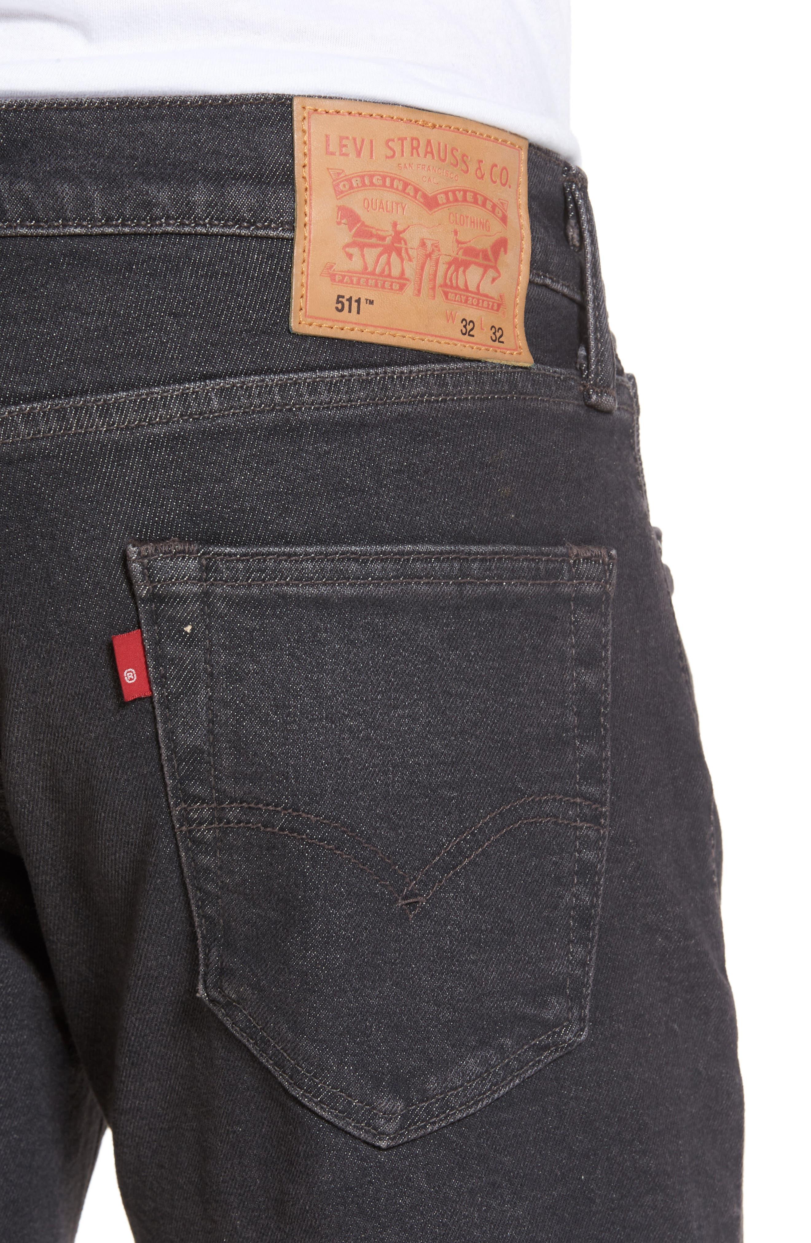 Alternate Image 4  - Levi's® 511™ Slim Fit Jeans (Lorimer)