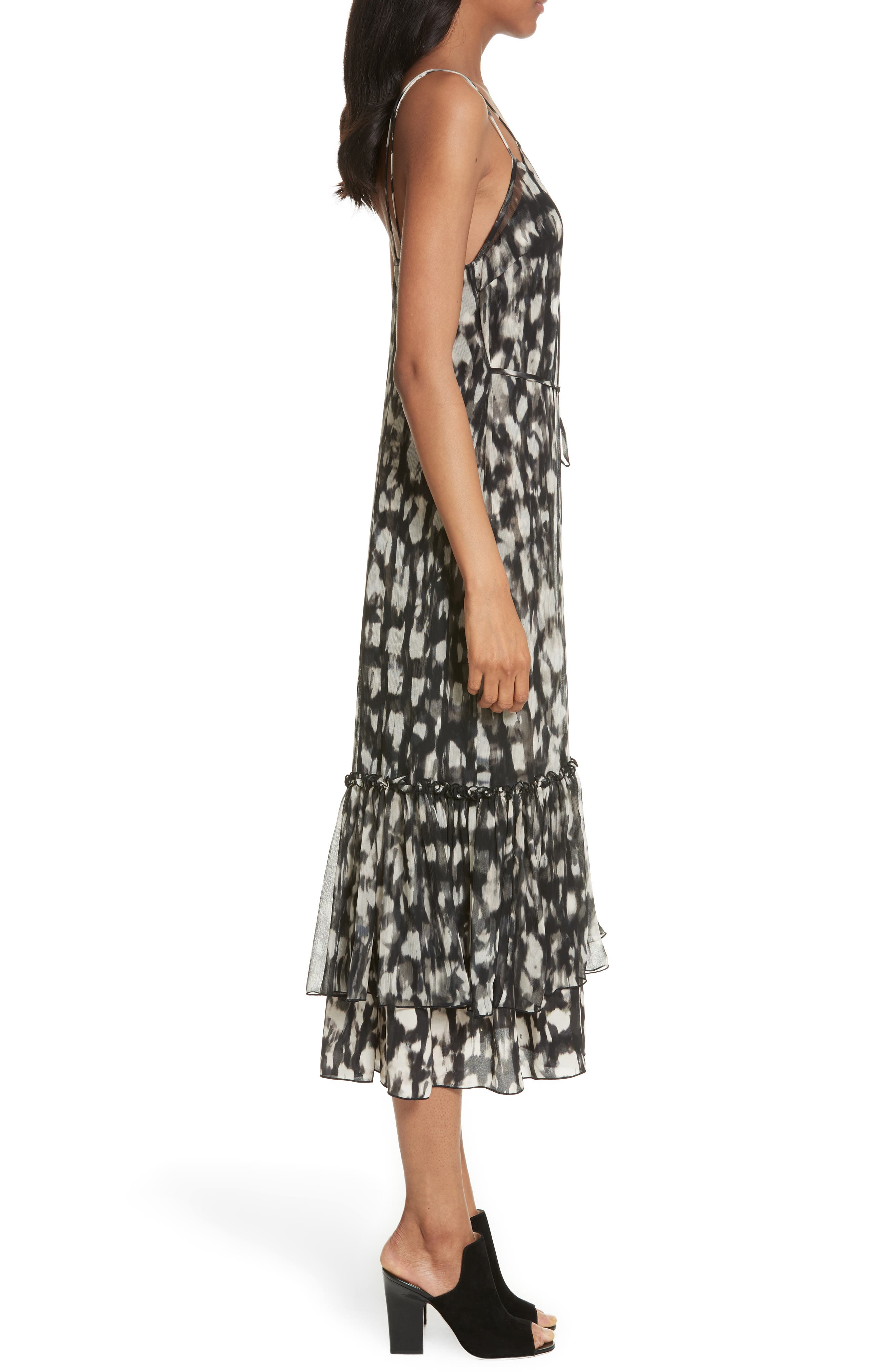 Alternate Image 3  - Tracy Reese Double Layer Silk Slipdress