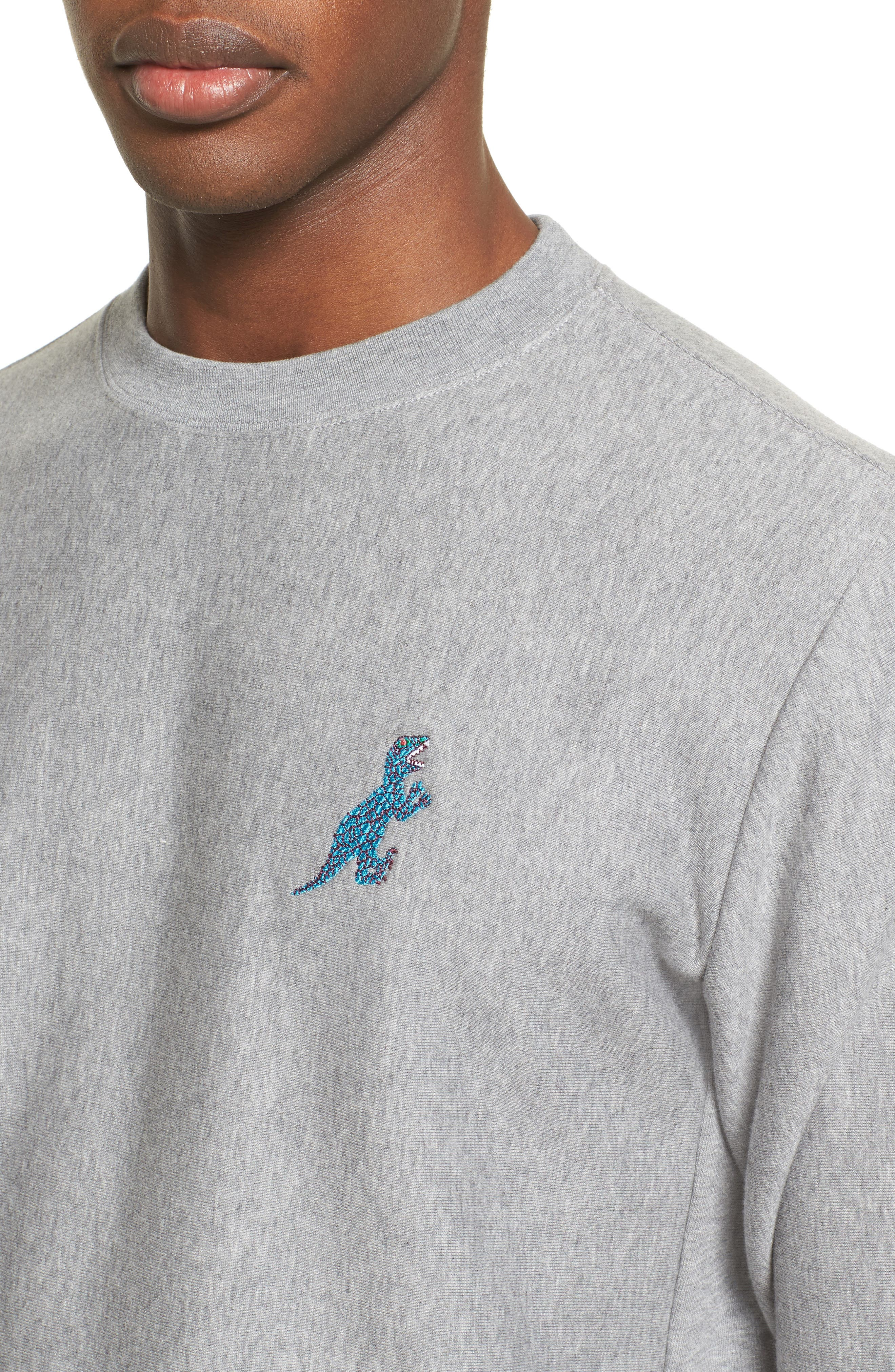 Alternate Image 4  - PS Paul Smith Dino Dino Embroidered Sweatshirt