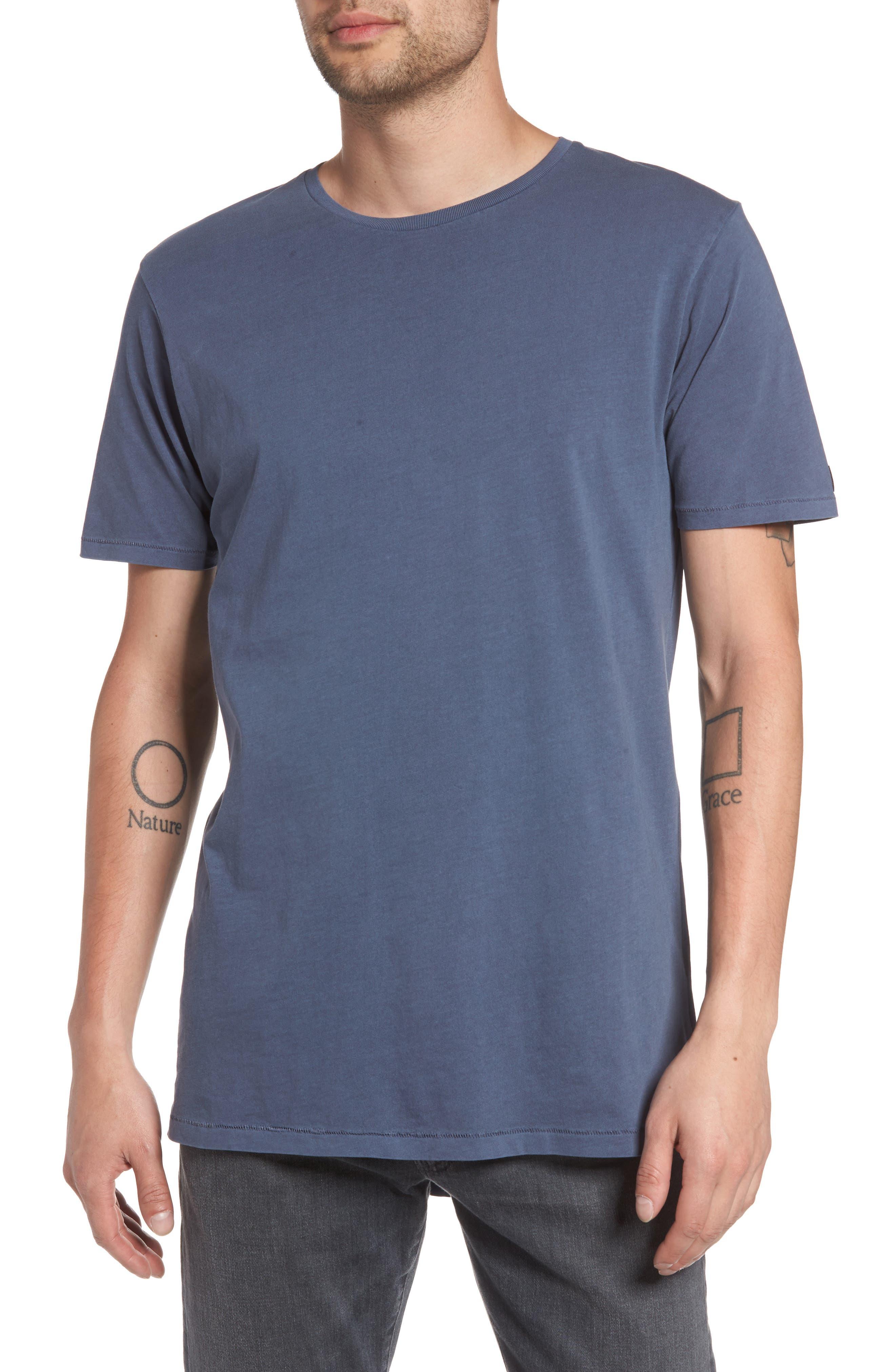 Flintlock Stripe T-Shirt,                             Main thumbnail 1, color,                             Pigment Blue Grey