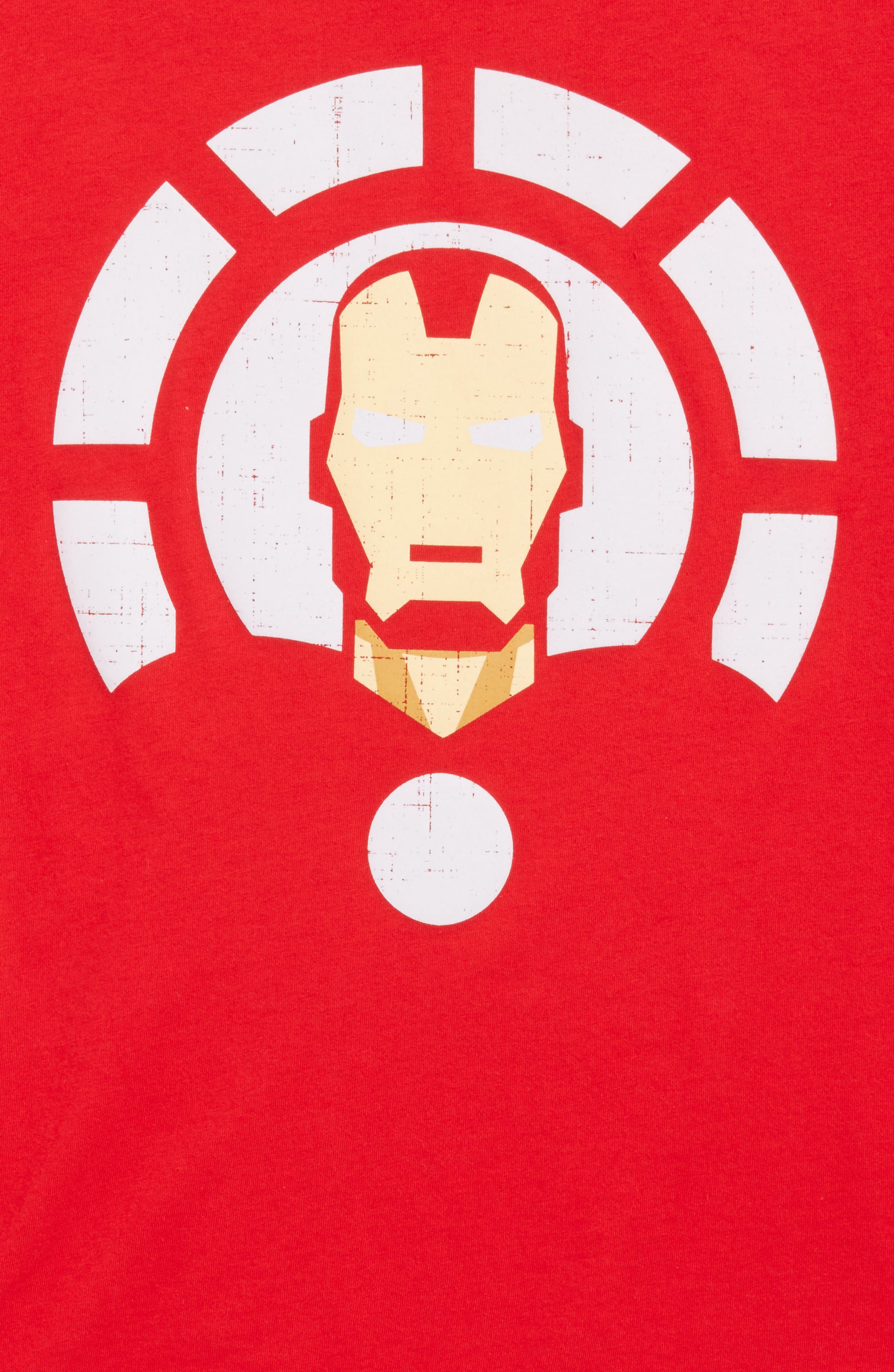Alternate Image 2  - Mighty Fine Iron Man Graphic T-Shirt (Big Boys)