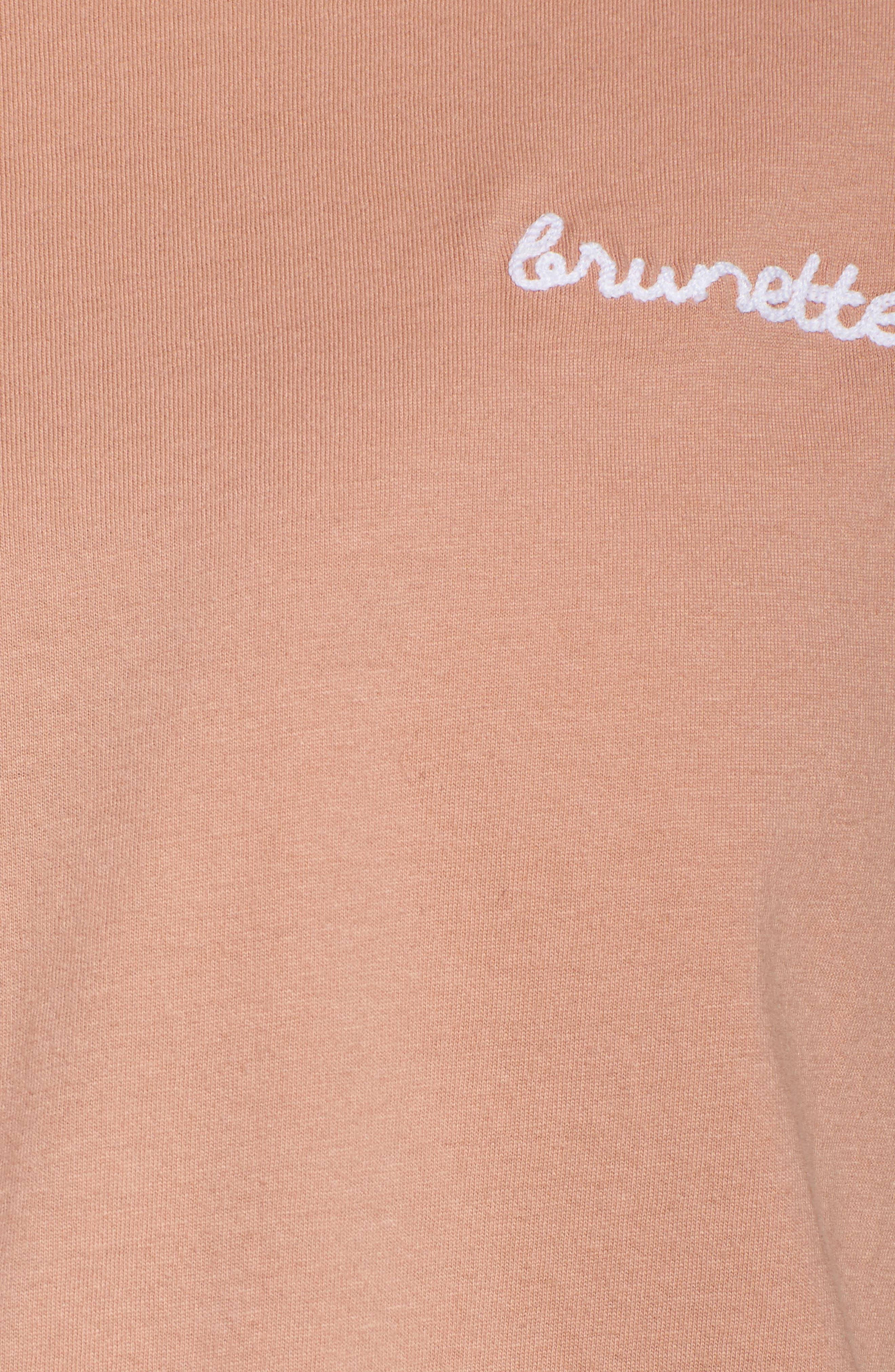 Alternate Image 5  - BRUNETTE the Label Brunette Tee