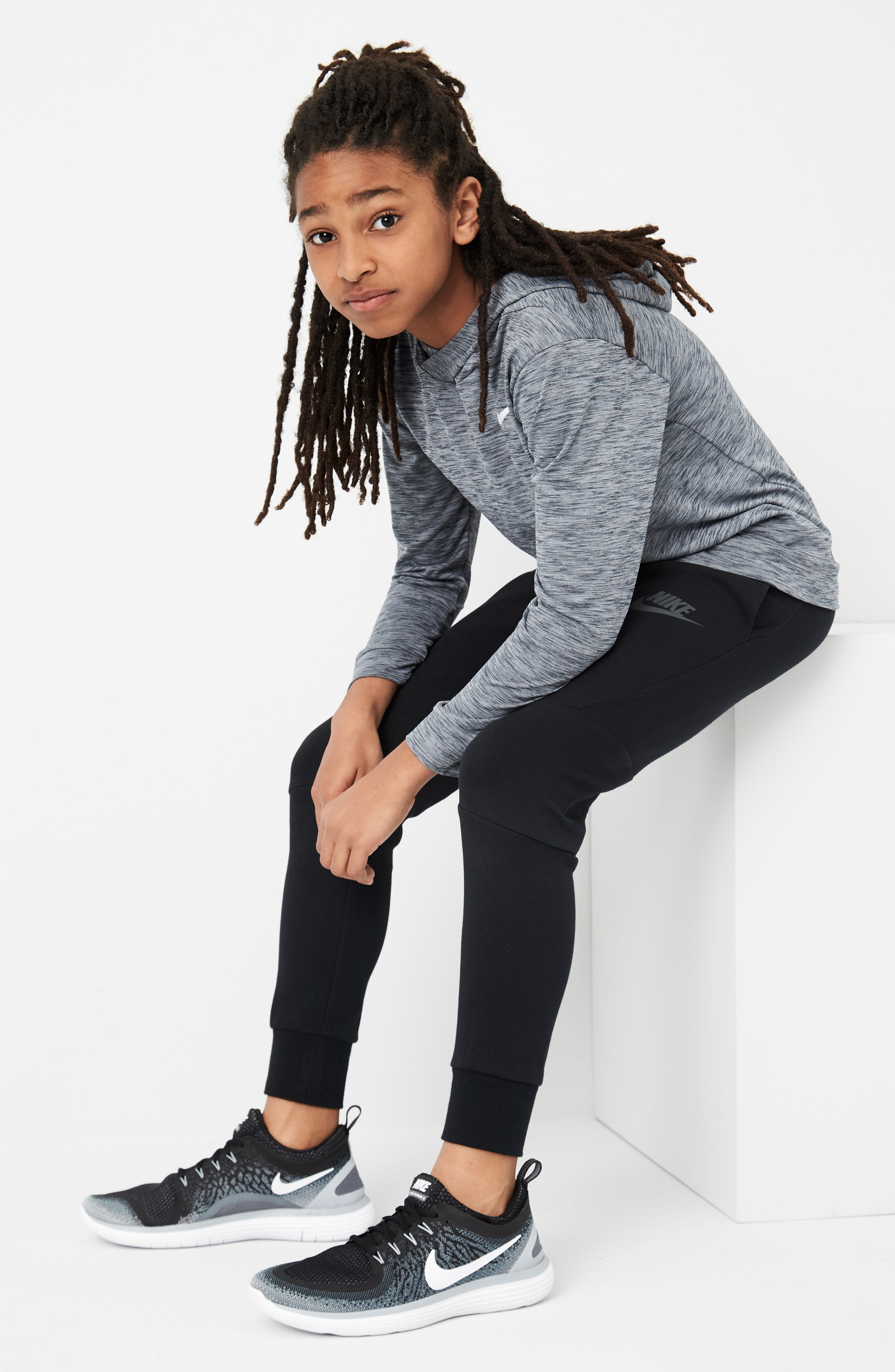 Alternate Image 5  - Nike Tech Fleece Pants (Little Boys & Big Boys)