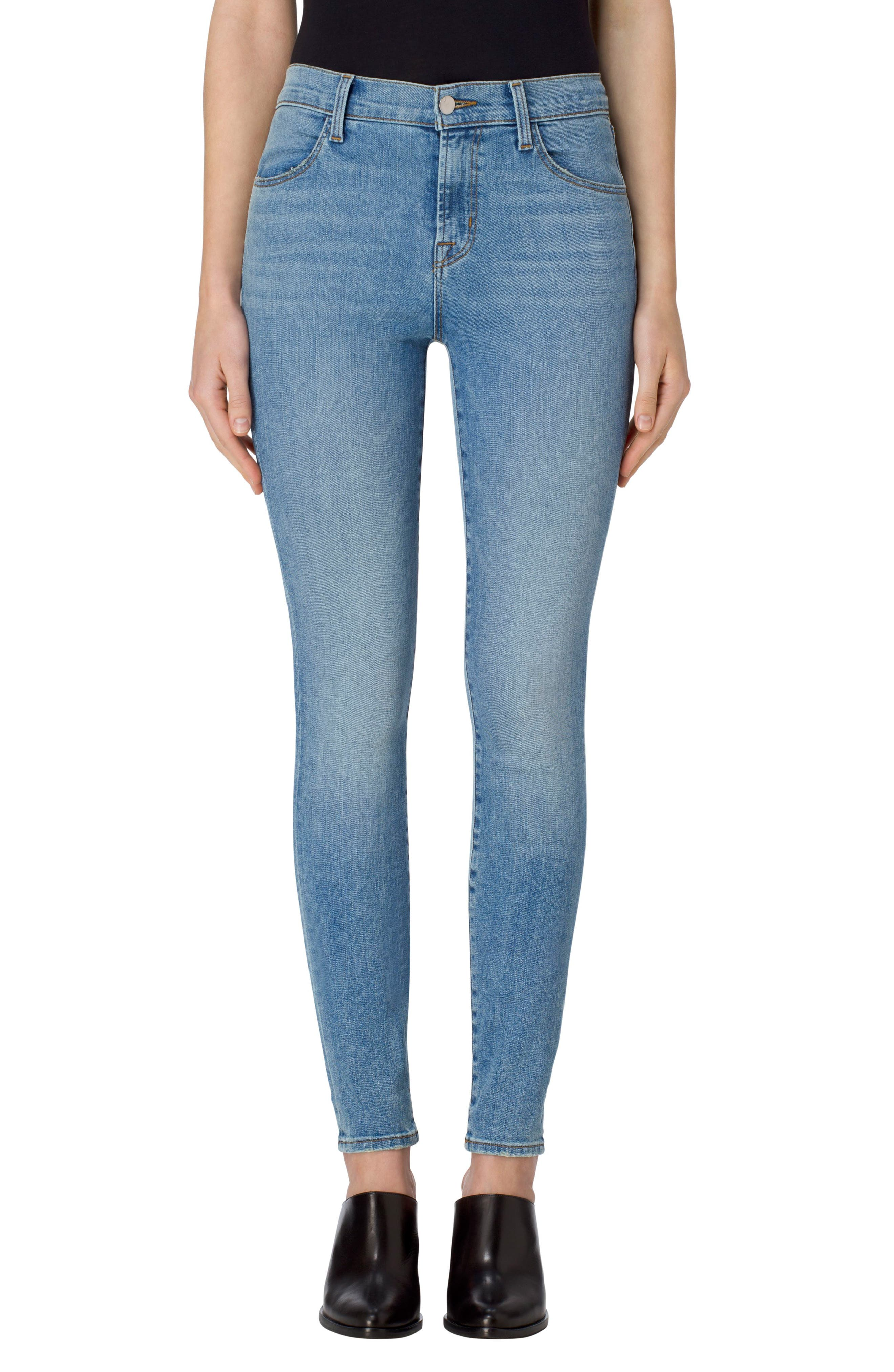 Alternate Image 1 Selected - J Brand Maria High Waist Skinny Jeans