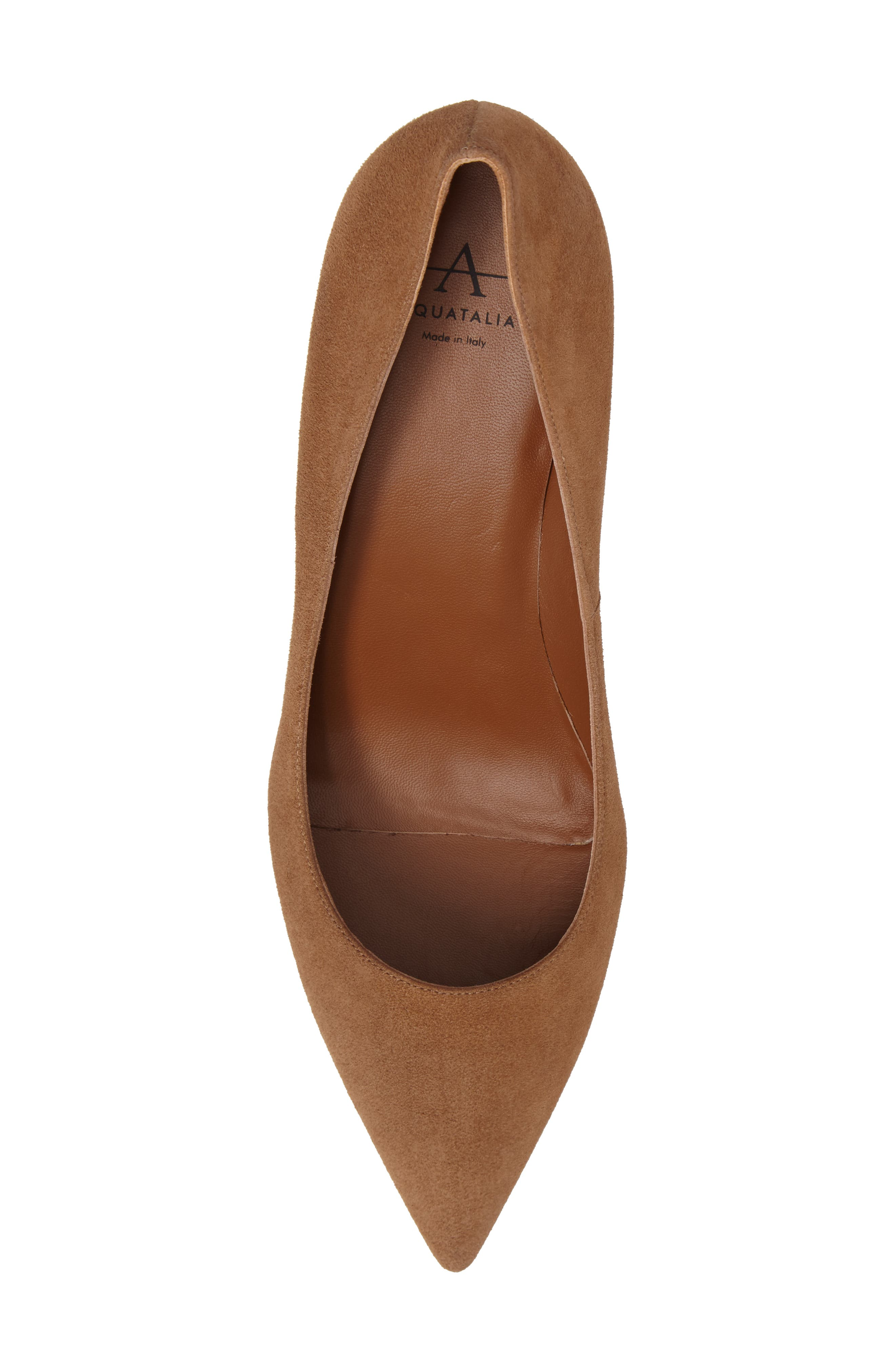 Michaela Weatherproof Pump,                             Alternate thumbnail 5, color,                             Sand Suede