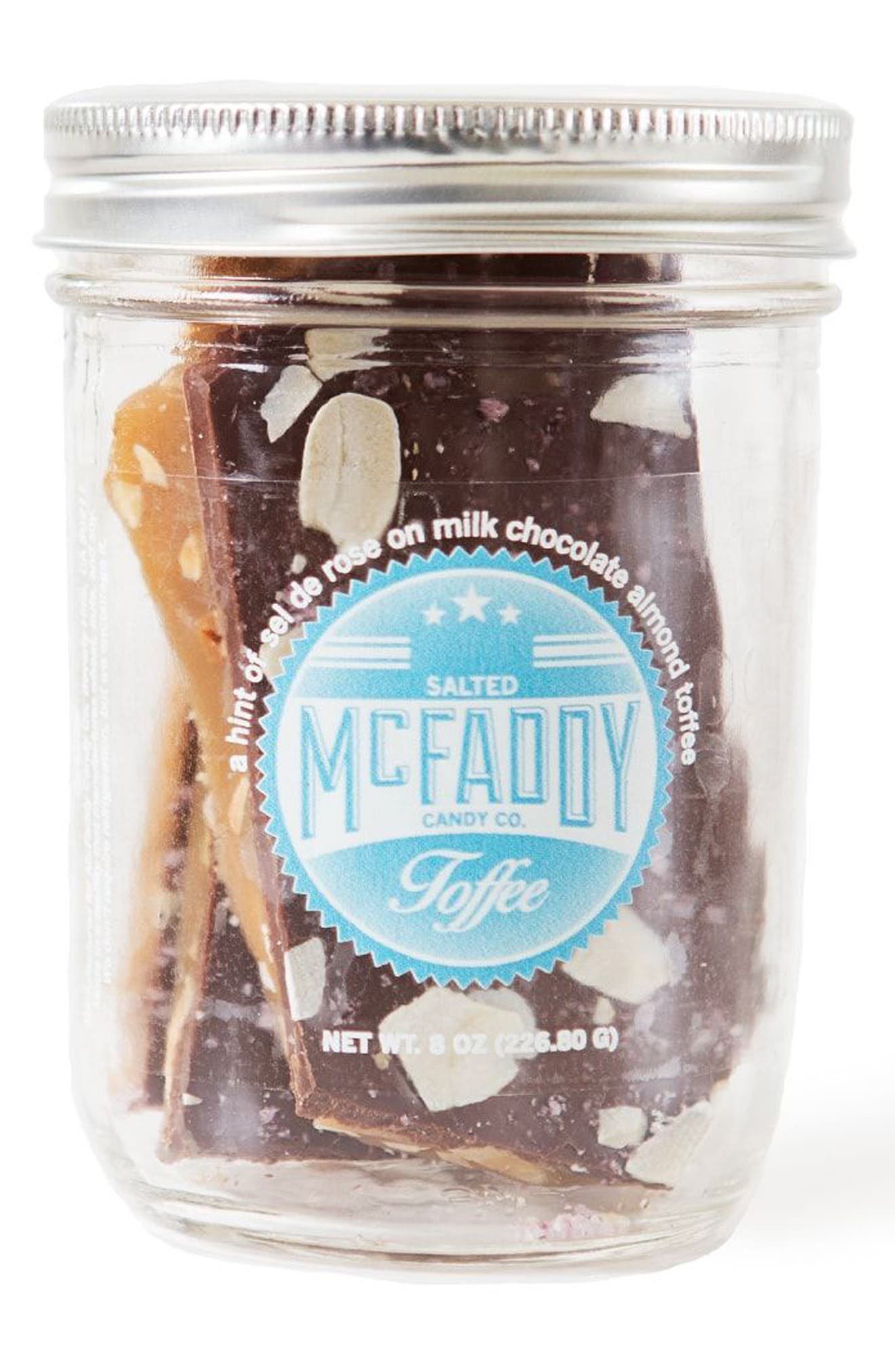 Alternate Image 1 Selected - McFaddy Candy Salted Toffee