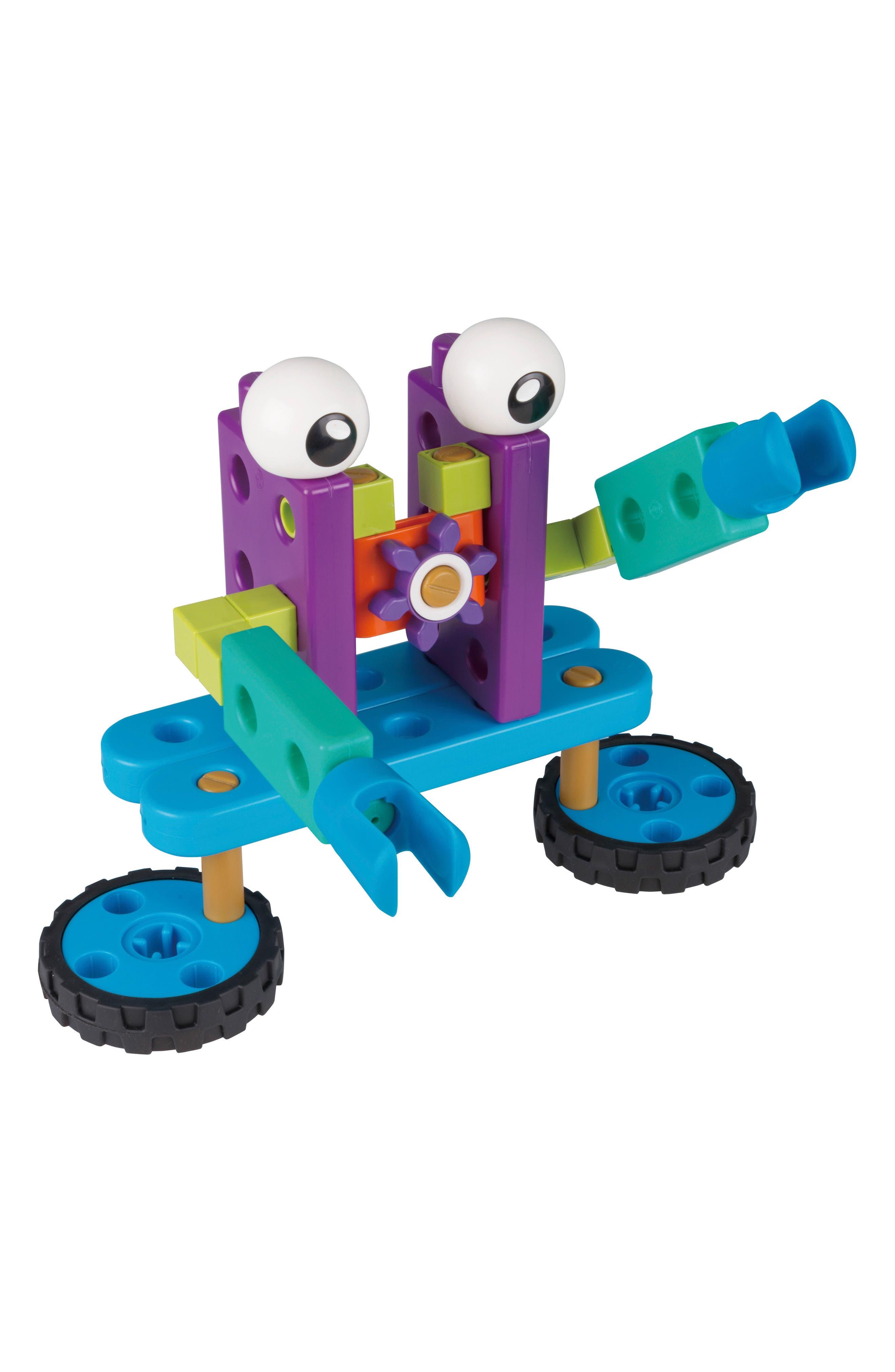 Robot Engineer Building Set & Storybook,                             Alternate thumbnail 8, color,                             Blue
