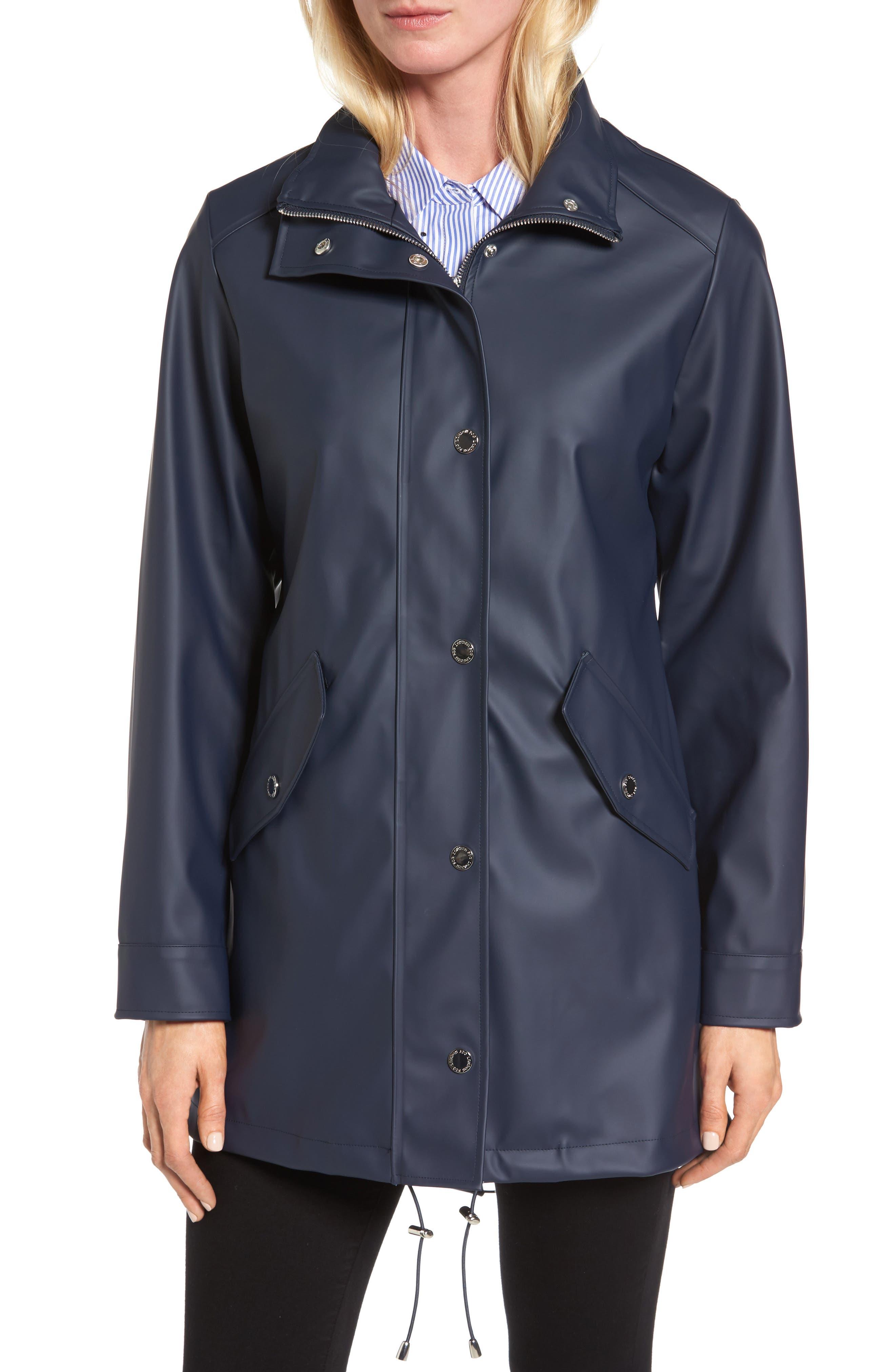 Alternate Image 4  - London Fog Hooded Rain Slicker