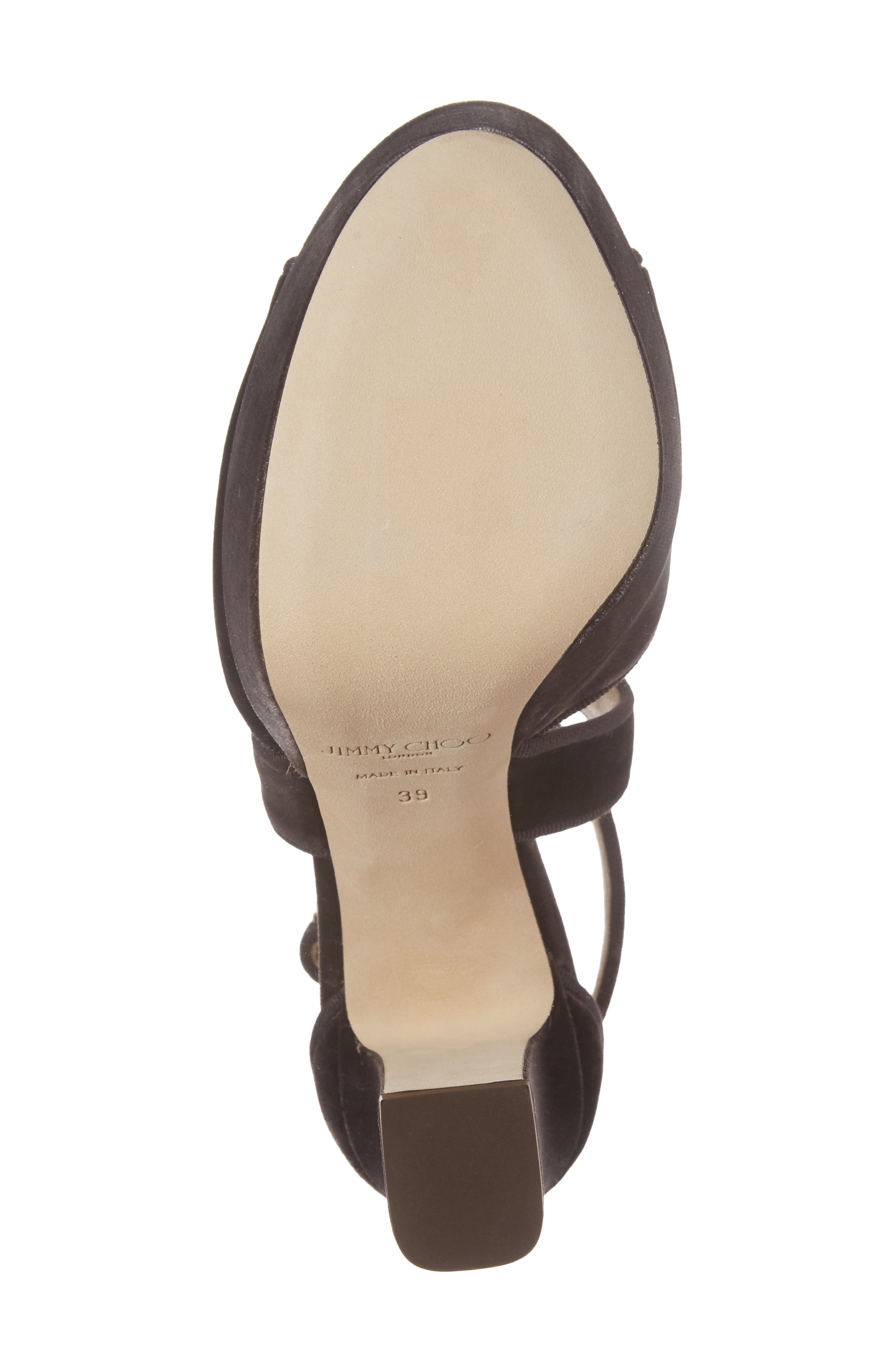 April Platform Sandal,                             Alternate thumbnail 6, color,                             Dark Mink Velvet