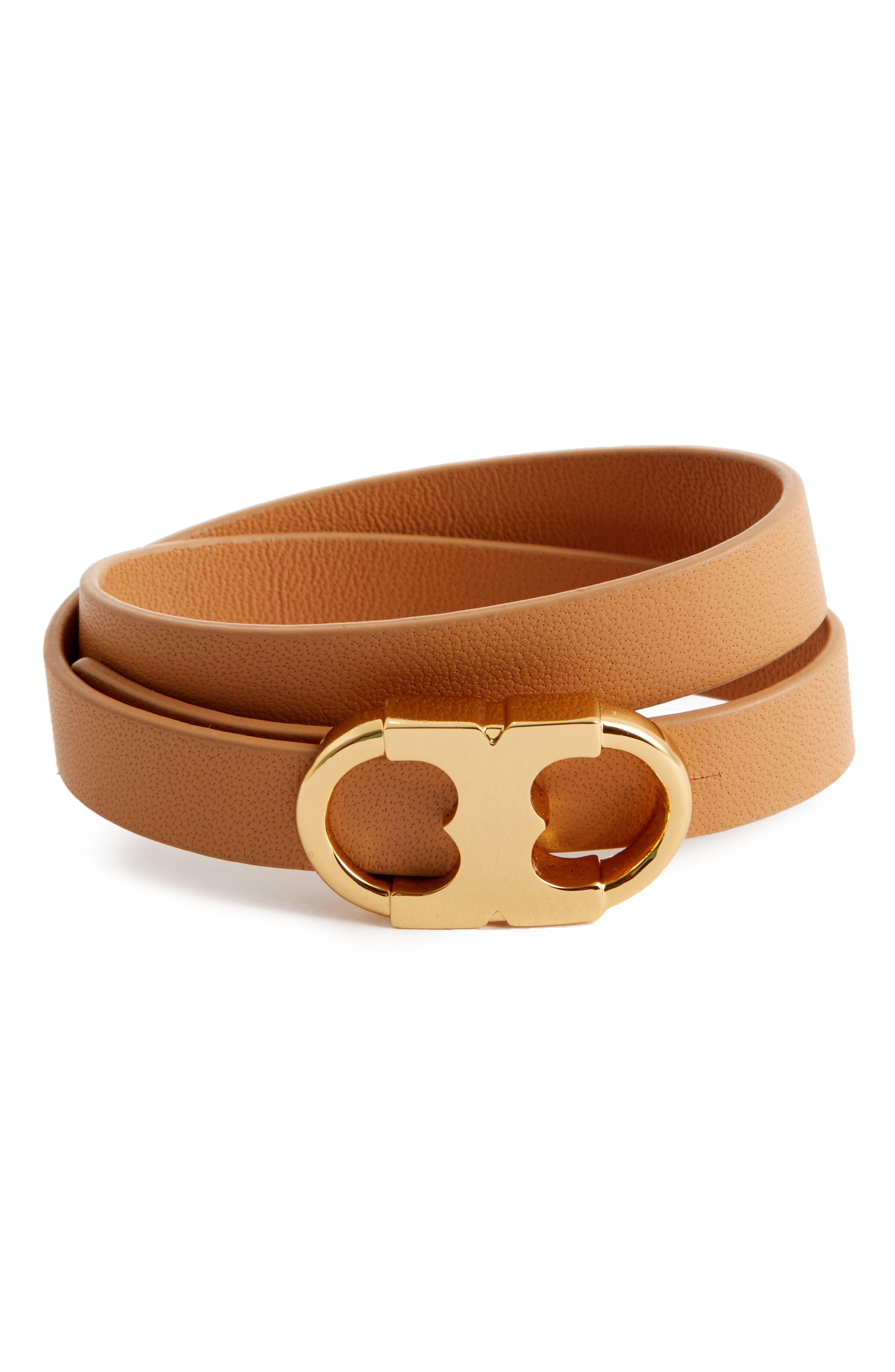 Main Image - Tory Burch Gemini Link Double Wrap Bracelet