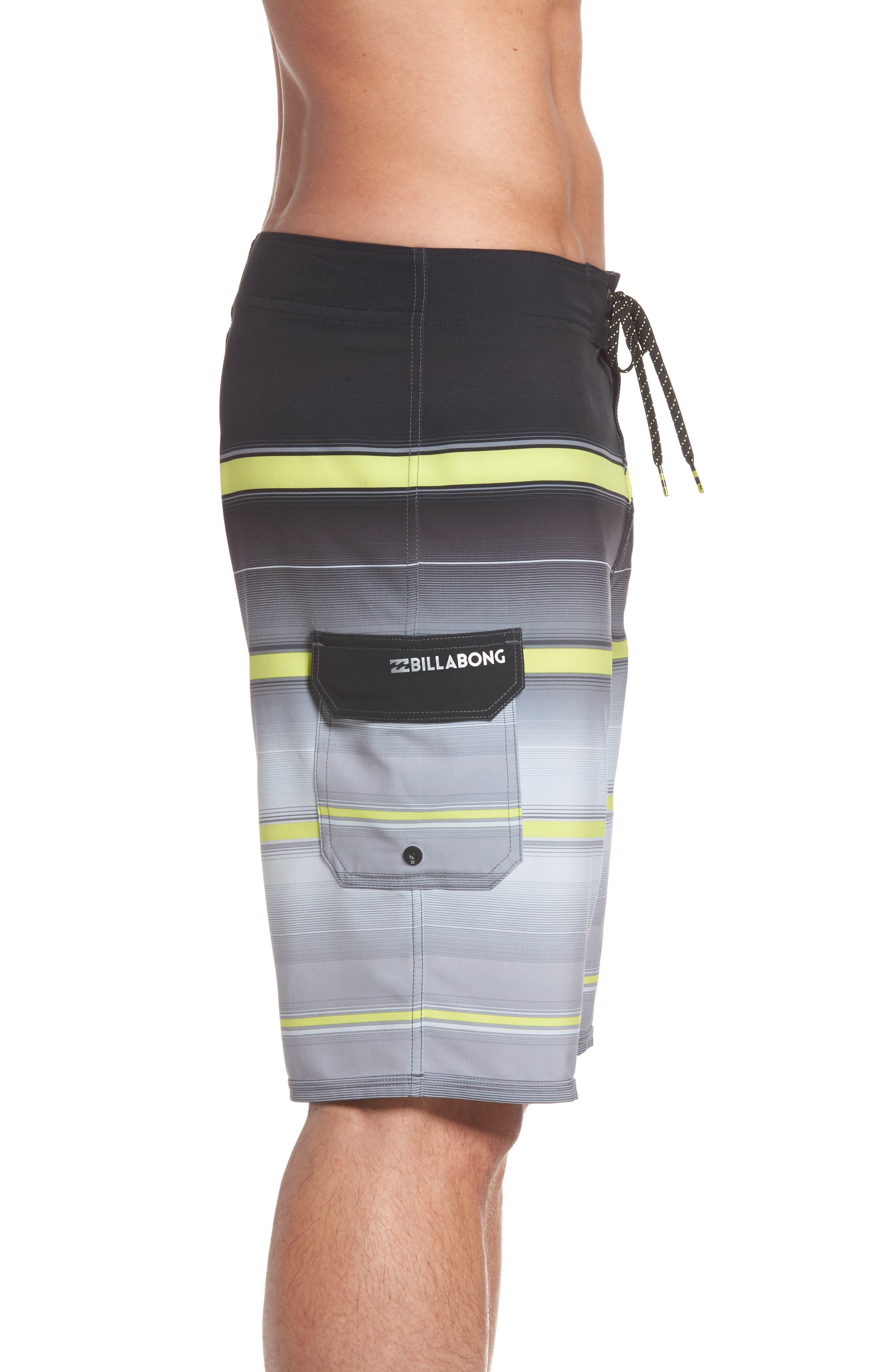 Alternate Image 4  - Billabong All Day X Stripe Board Shorts (Regular & Big)