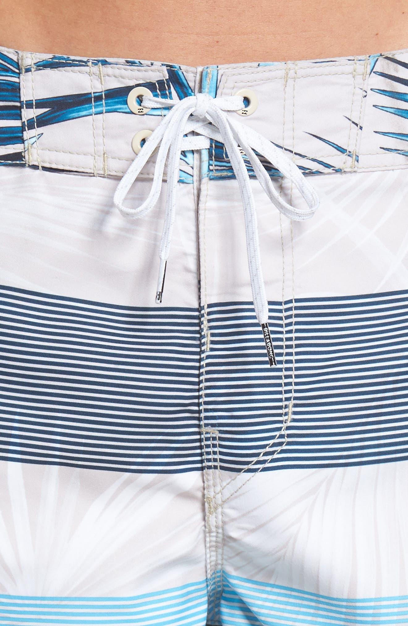 73 OG Stripe Board Shorts,                             Alternate thumbnail 5, color,                             Stone