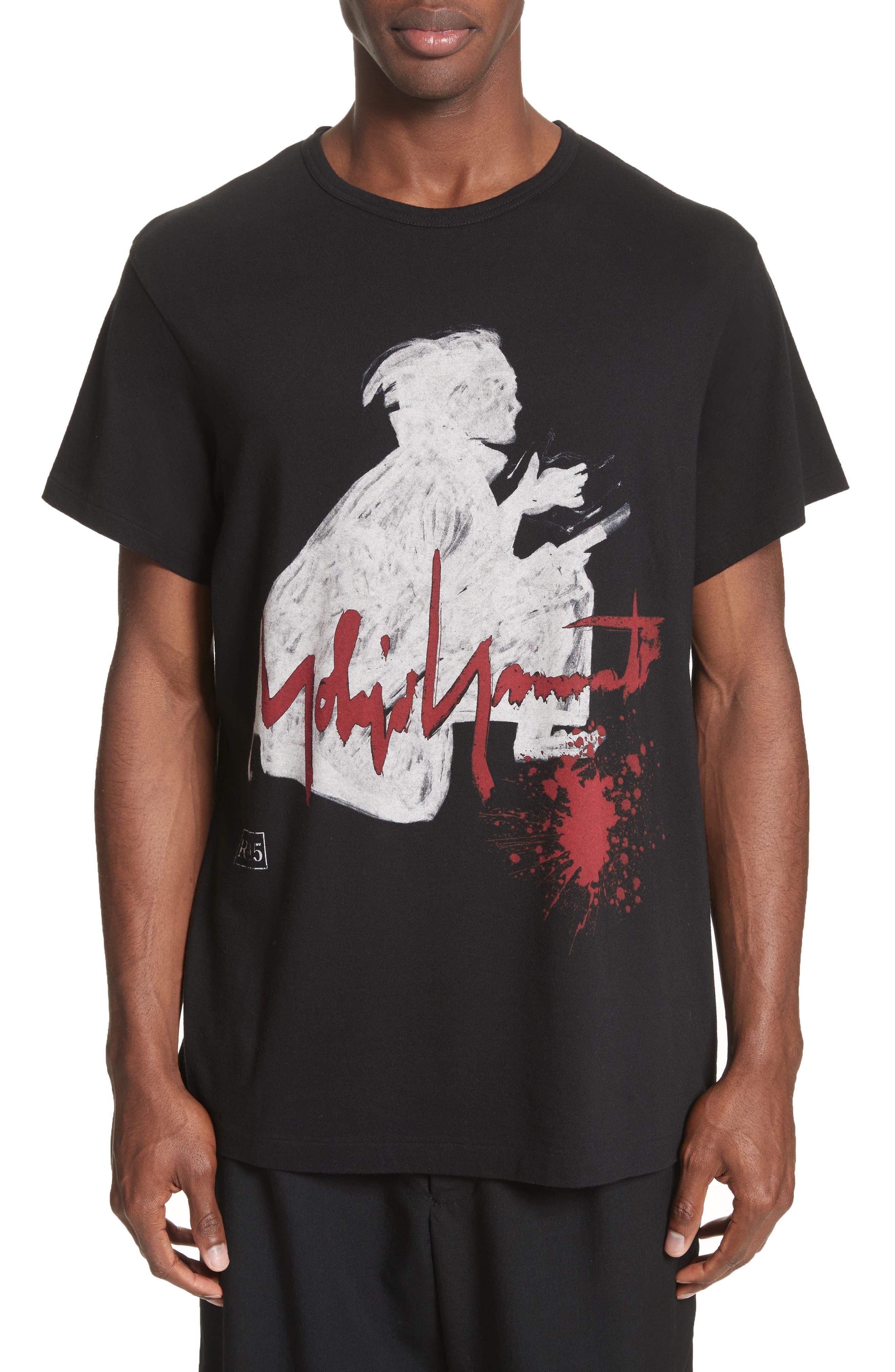 Alternate Image 1 Selected - Yohji Yamamoto Samurai Graphic T-Shirt